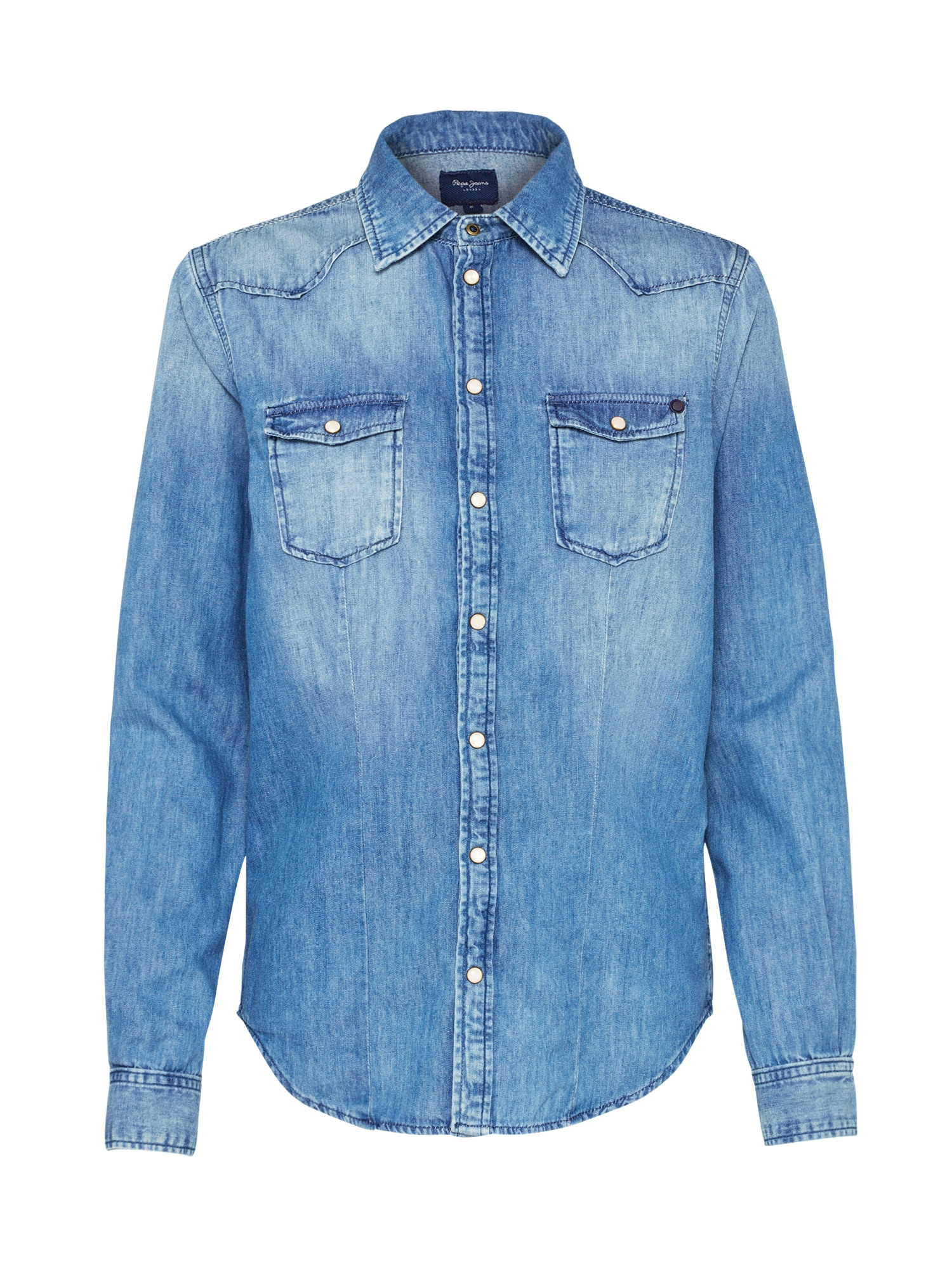 Pepe Jeans Dames Blouse ROSIE blauw