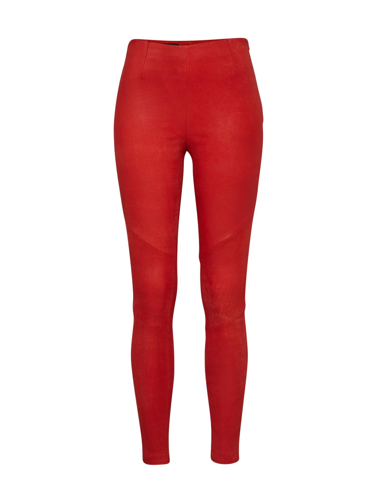 Kalhoty Nori Buffed červená Tigha