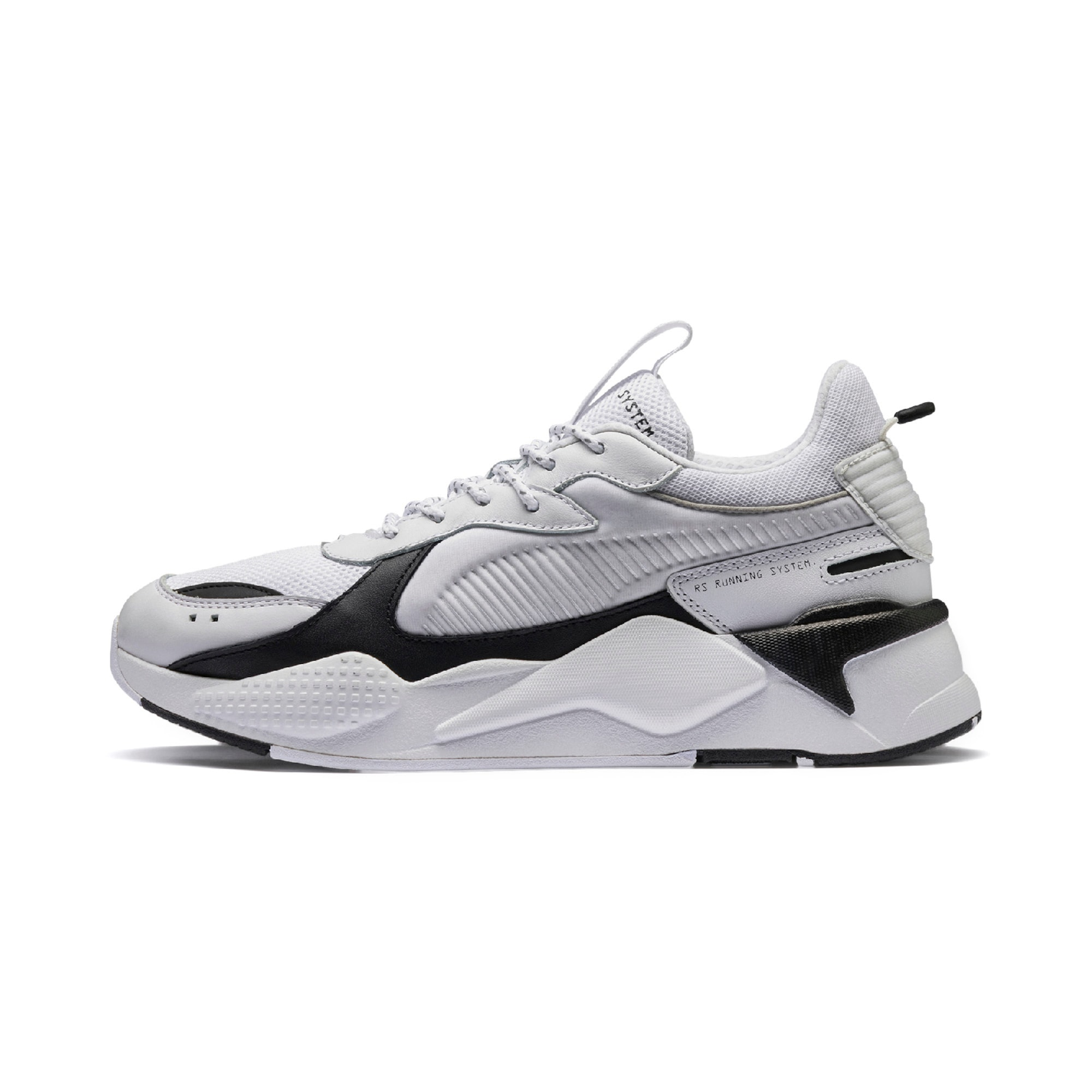 PUMA, Dames Sneakers laag 'RS-X CORE', zwart / wit