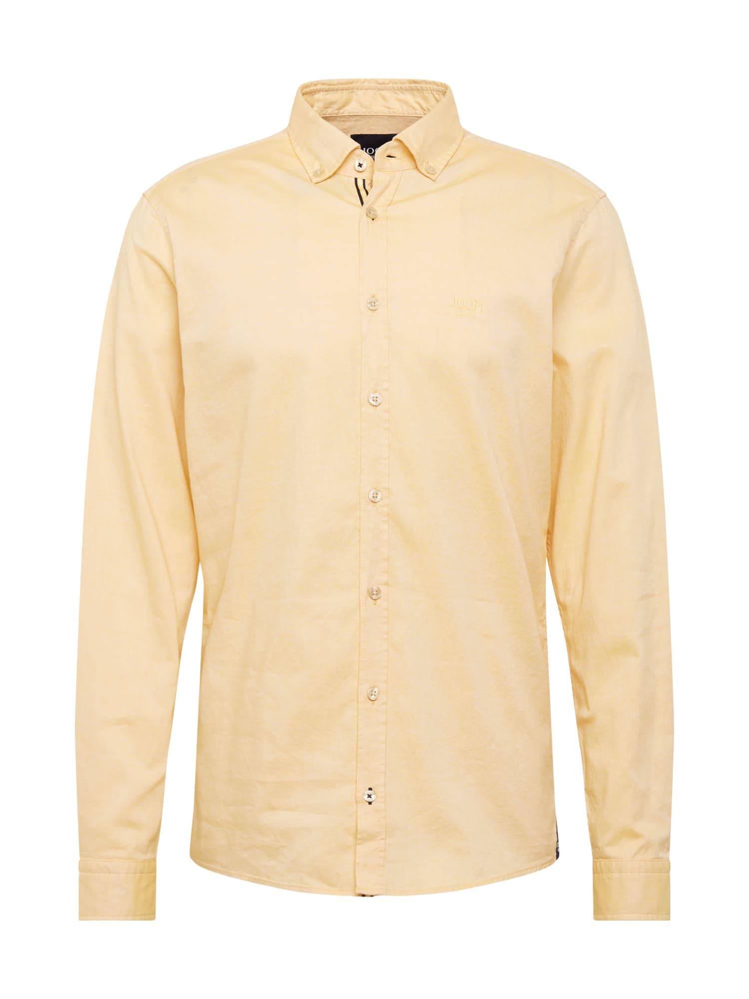 JOOP! Jeans Společenská košile '15 JJSH-40Haven-W'  žlutá