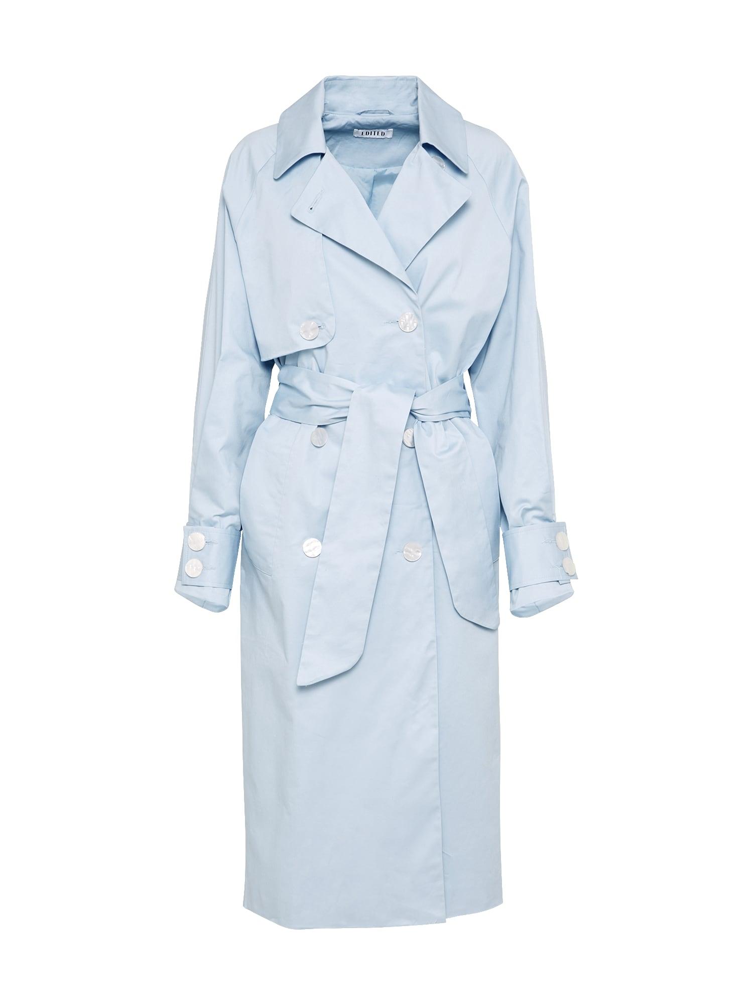 Přechodný kabát Clea světlemodrá EDITED