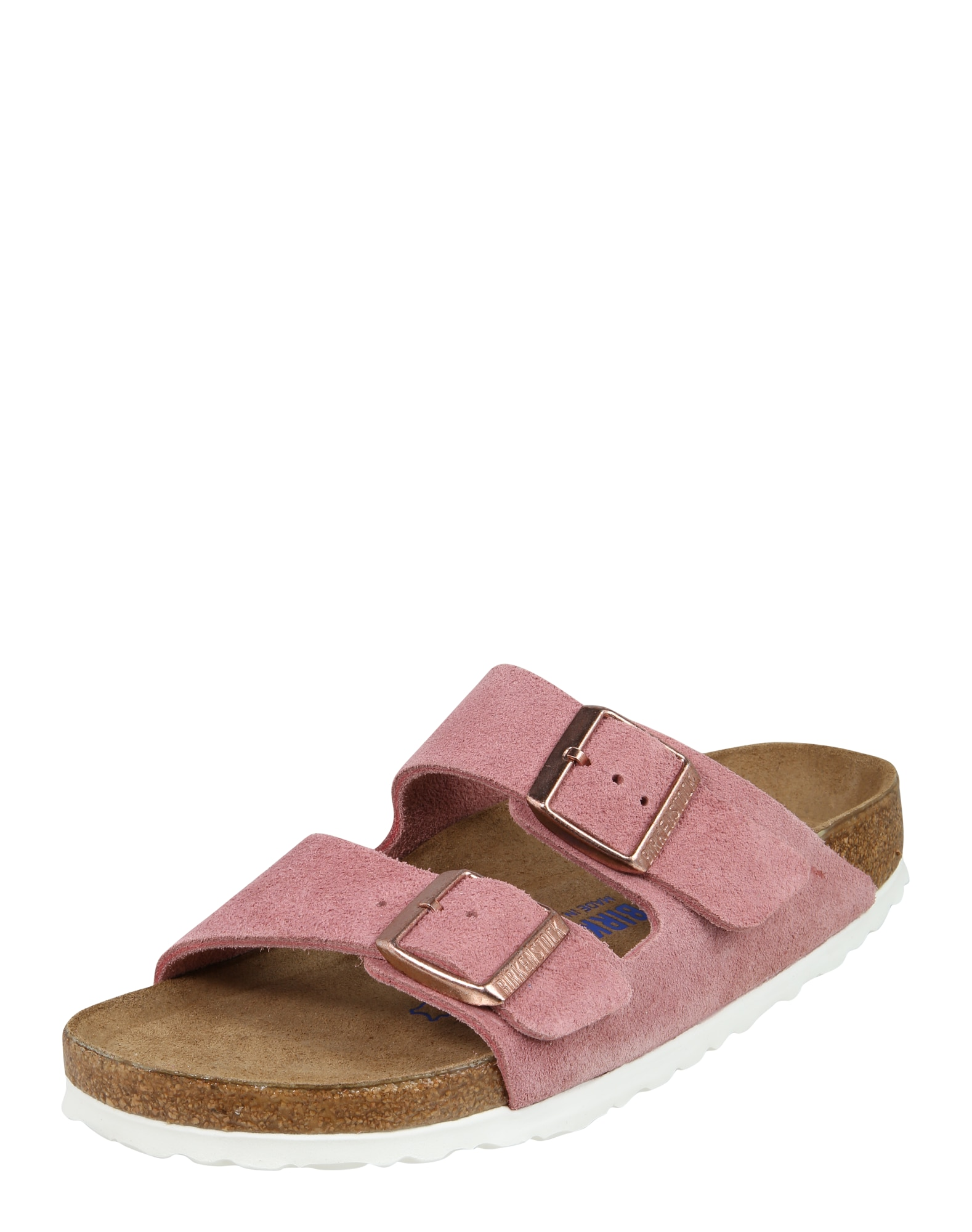 Pantofle Arizona Suede růžová BIRKENSTOCK