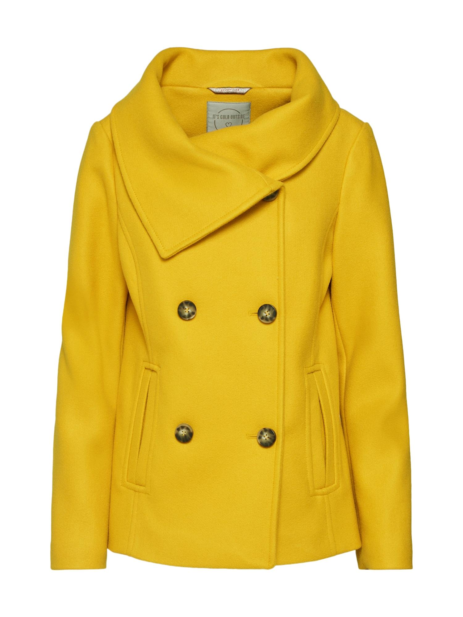 Zimní bunda žlutá S.Oliver RED LABEL