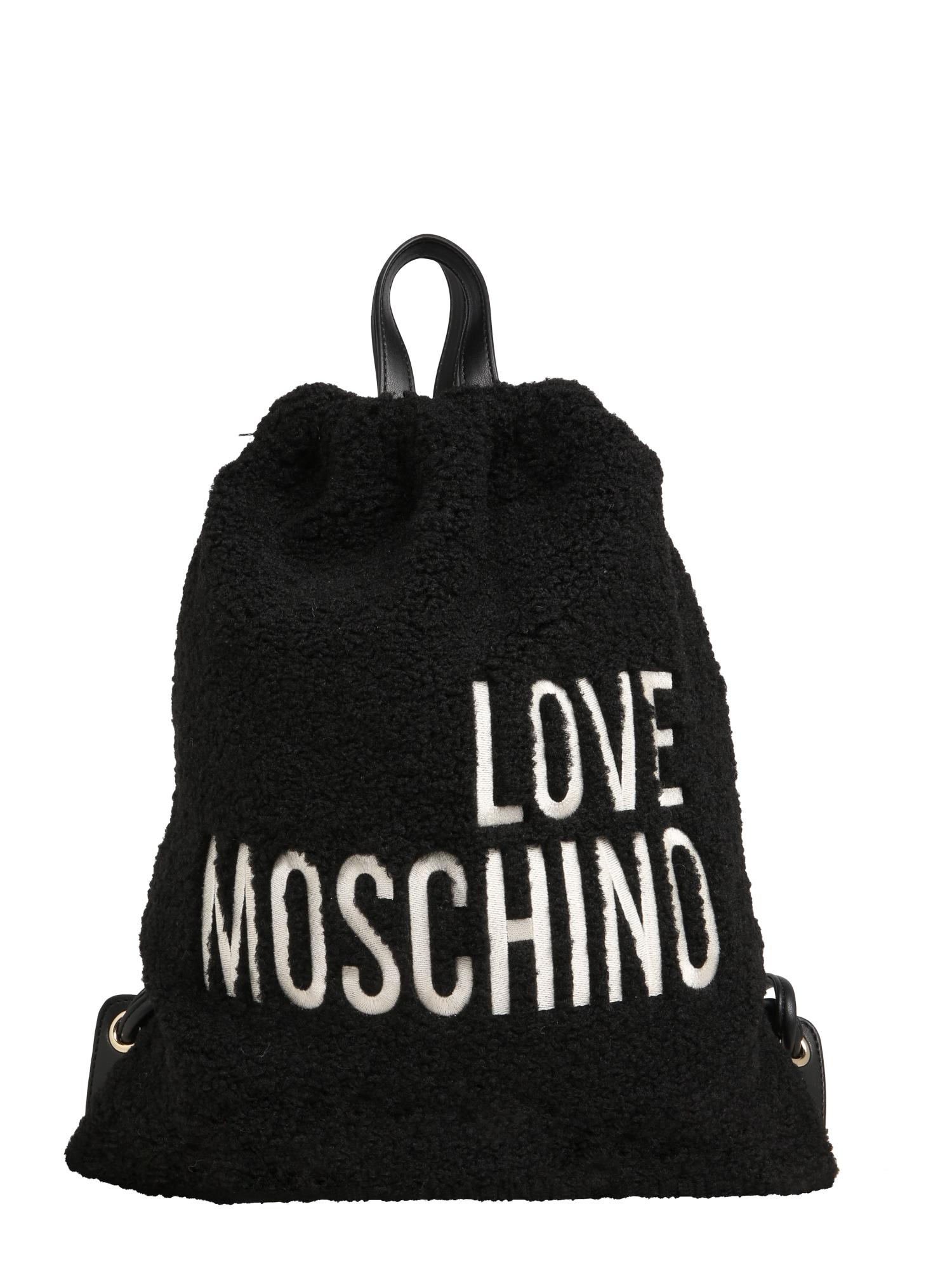 Batoh BORSA černá Love Moschino