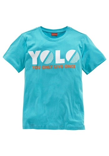 "T-Shirt ""You only live once"