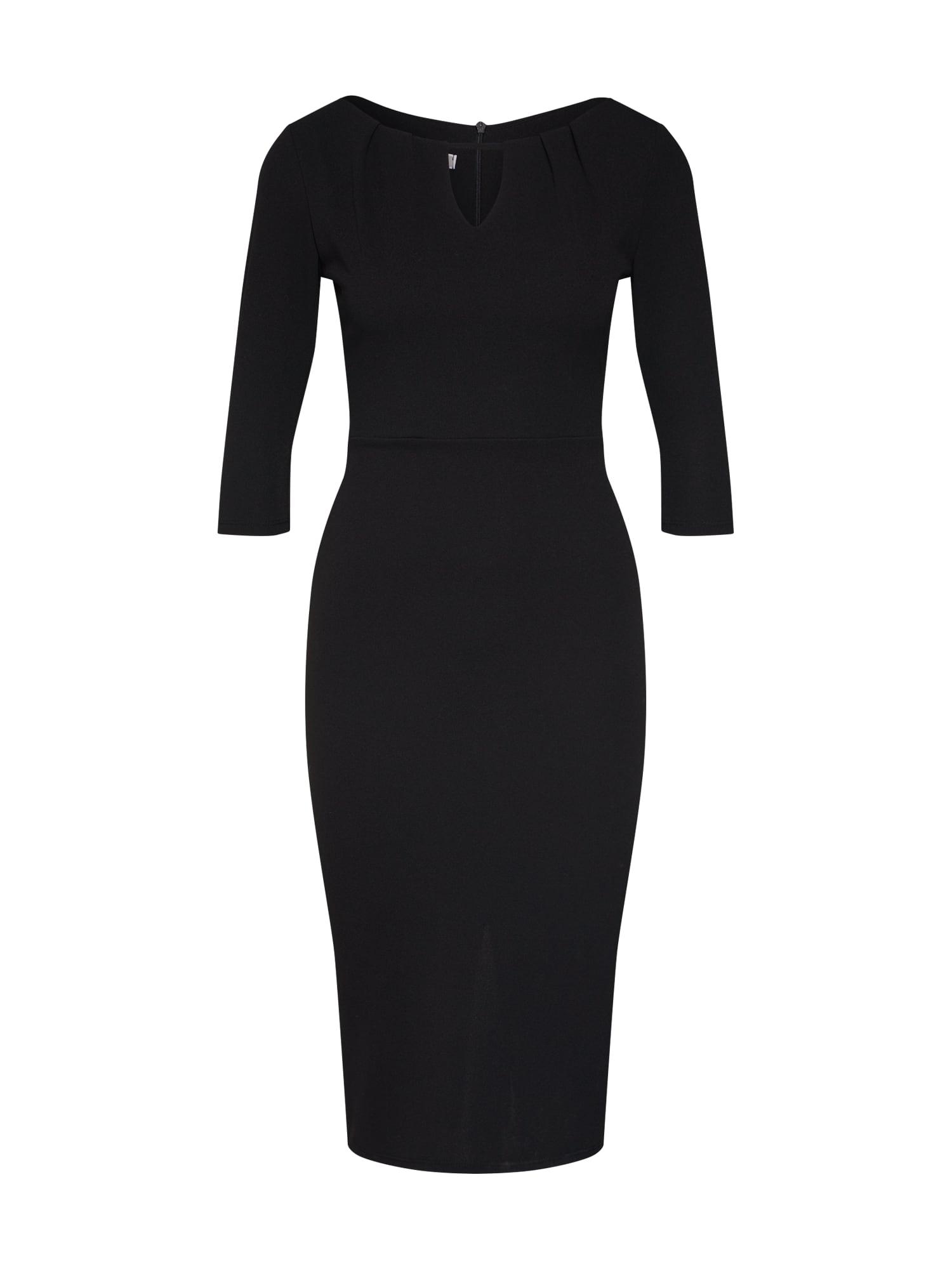 Pouzdrové šaty WG 7865 černá WAL G.