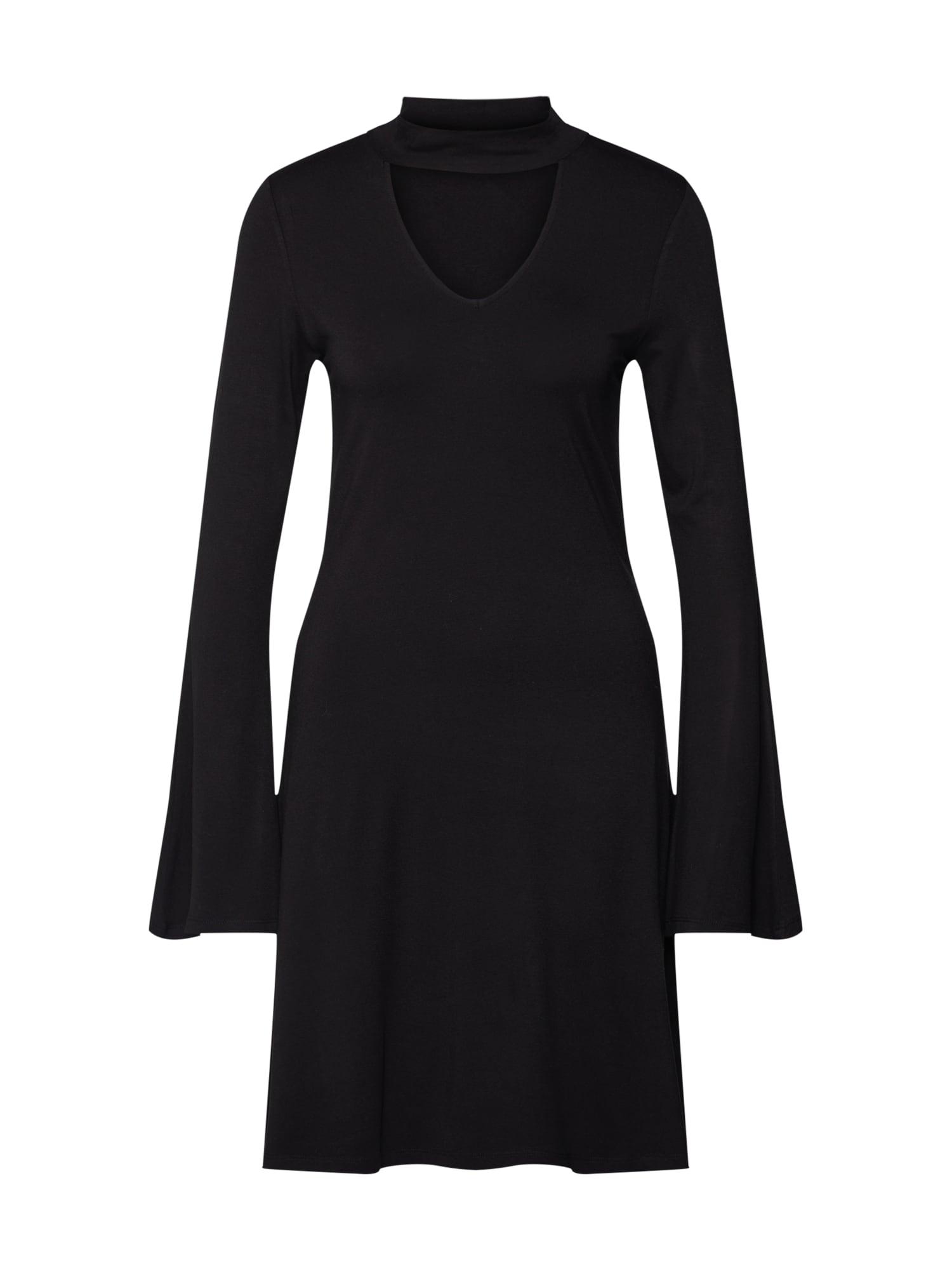 Šaty NuF_074 černá NADEL U FADEN