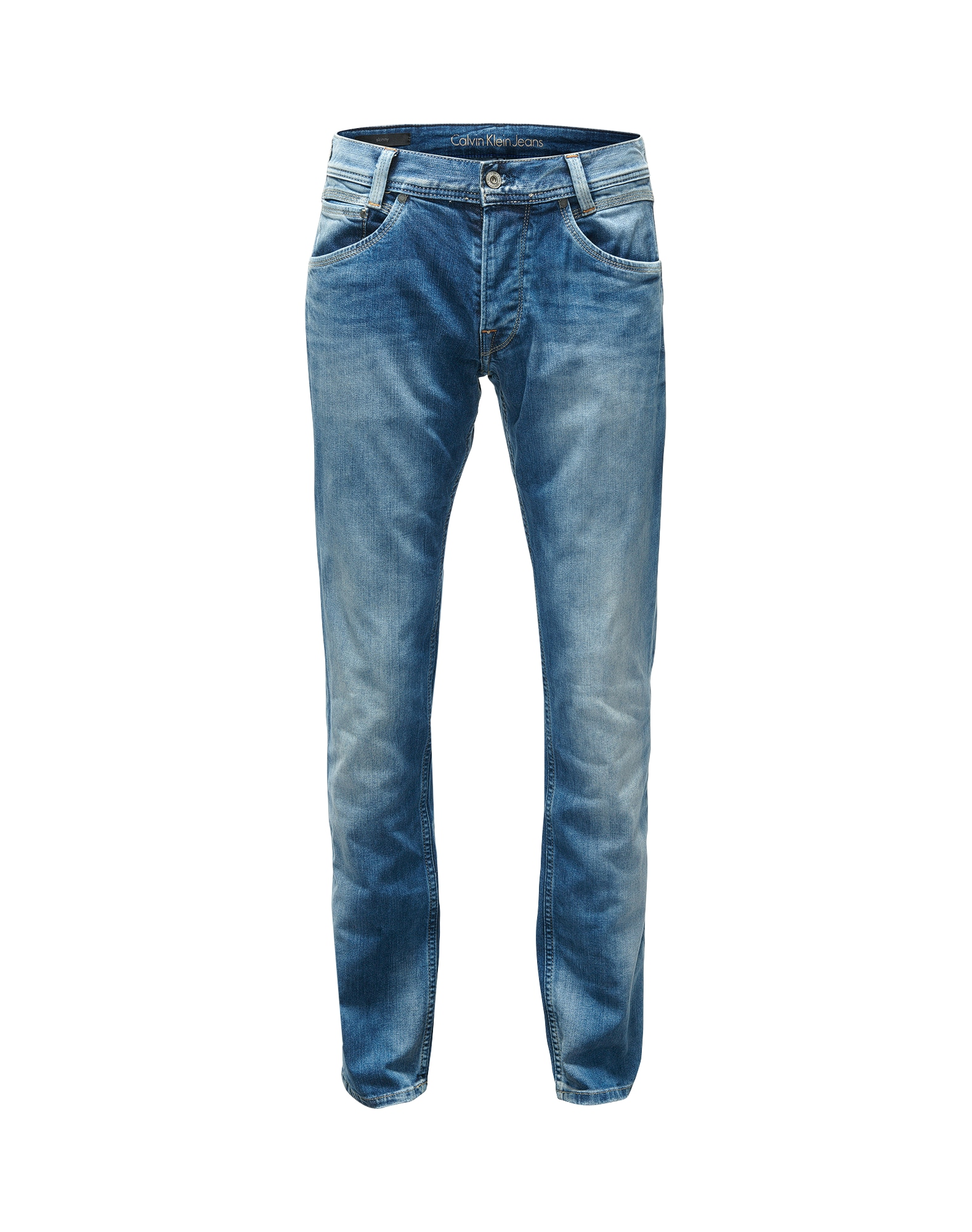 Pepe Jeans Heren Jeans Spike blauw denim