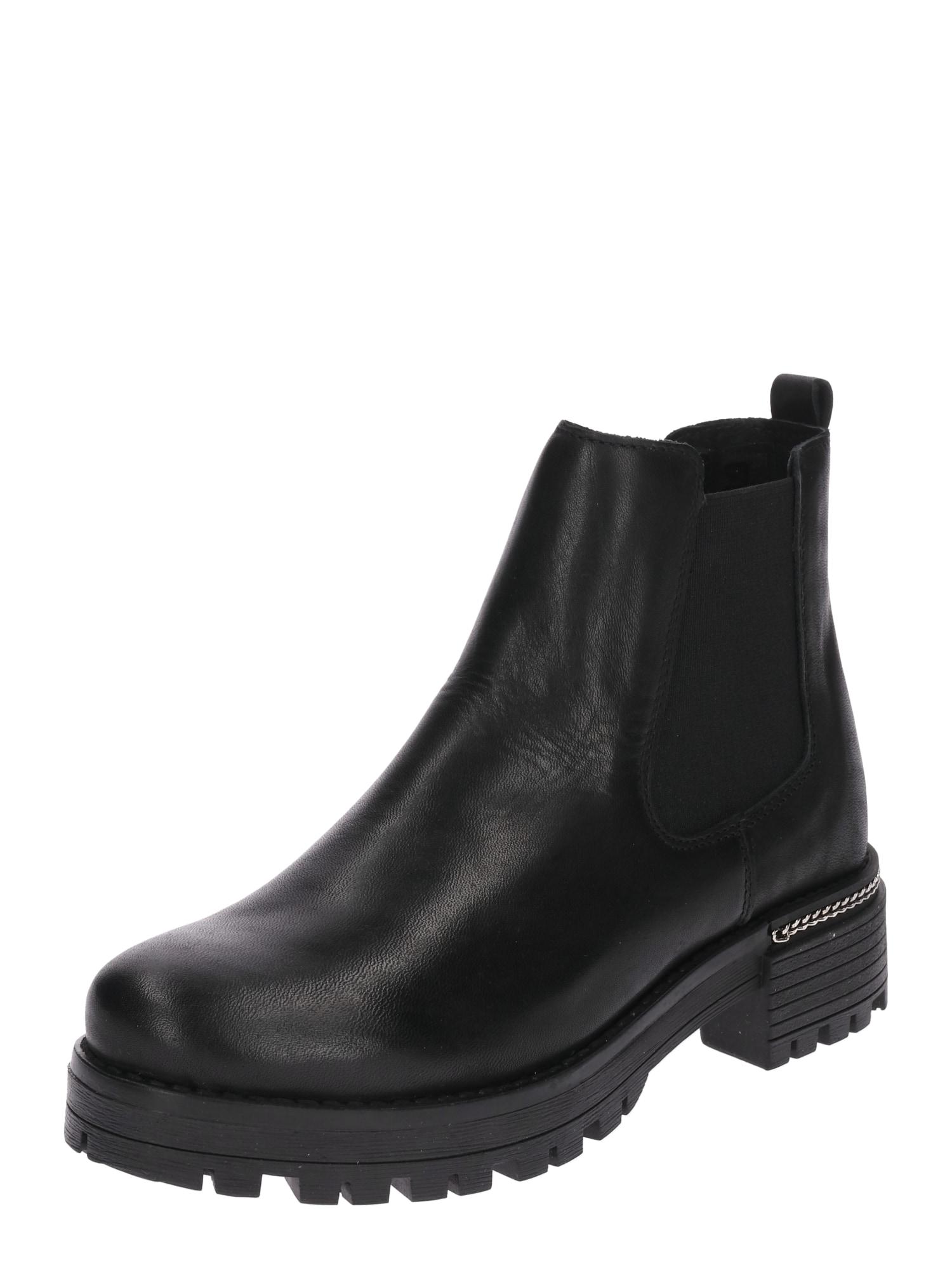 Chelsea boty černá PS Poelman