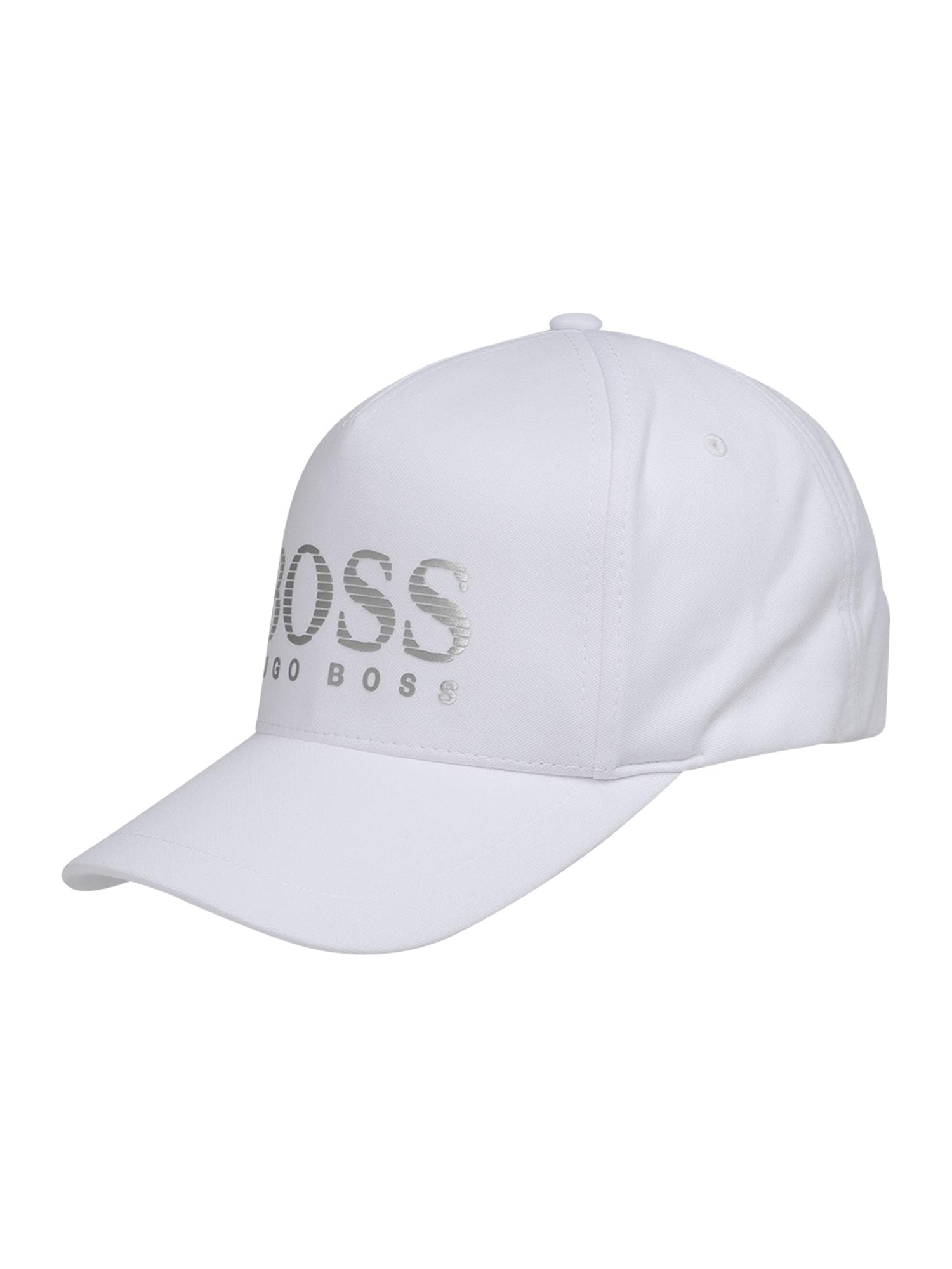 Kšiltovka bílá BOSS
