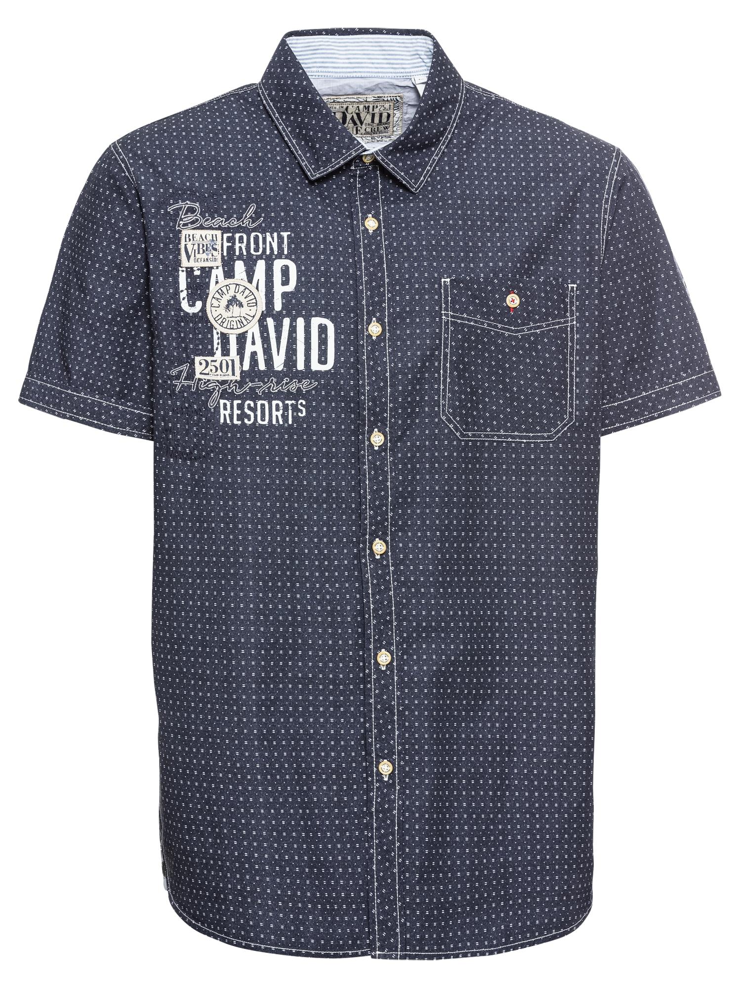 Košile námořnická modř bílá CAMP DAVID