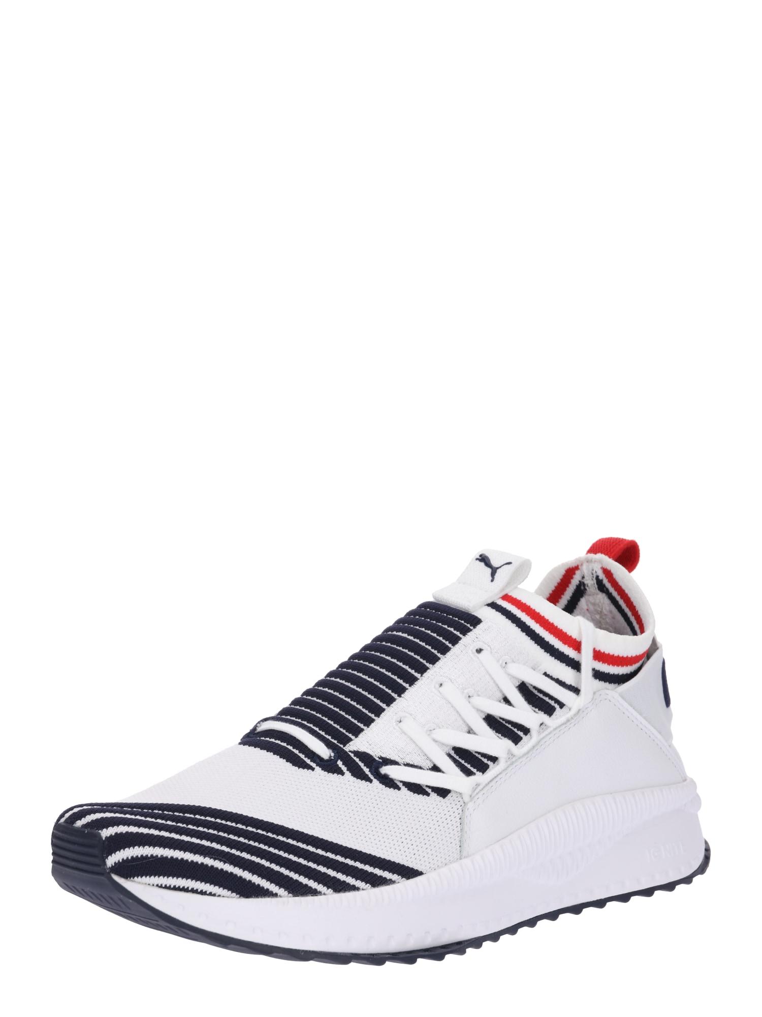 PUMA, Heren Sneakers laag 'TSUGI', marine / rood / wit