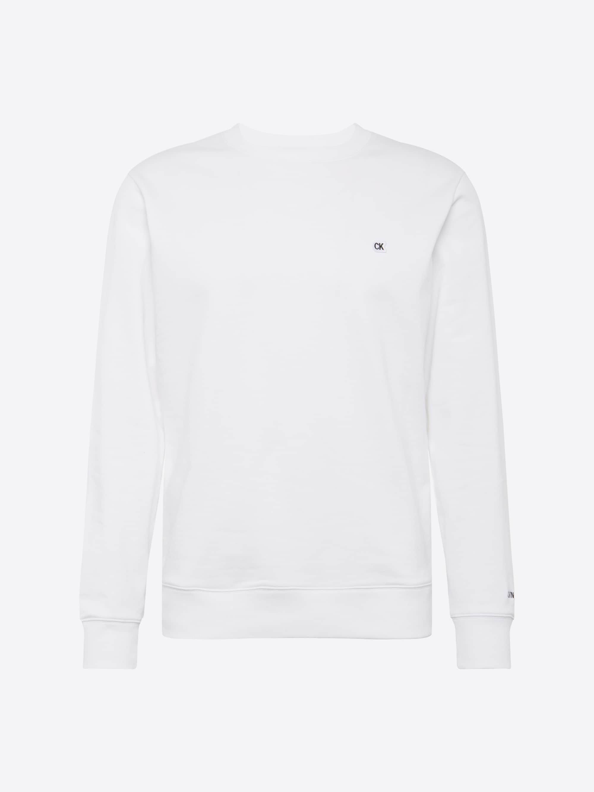 Sweatshirt 'CKJ CHEST EMBROIDERY CREW NECK'
