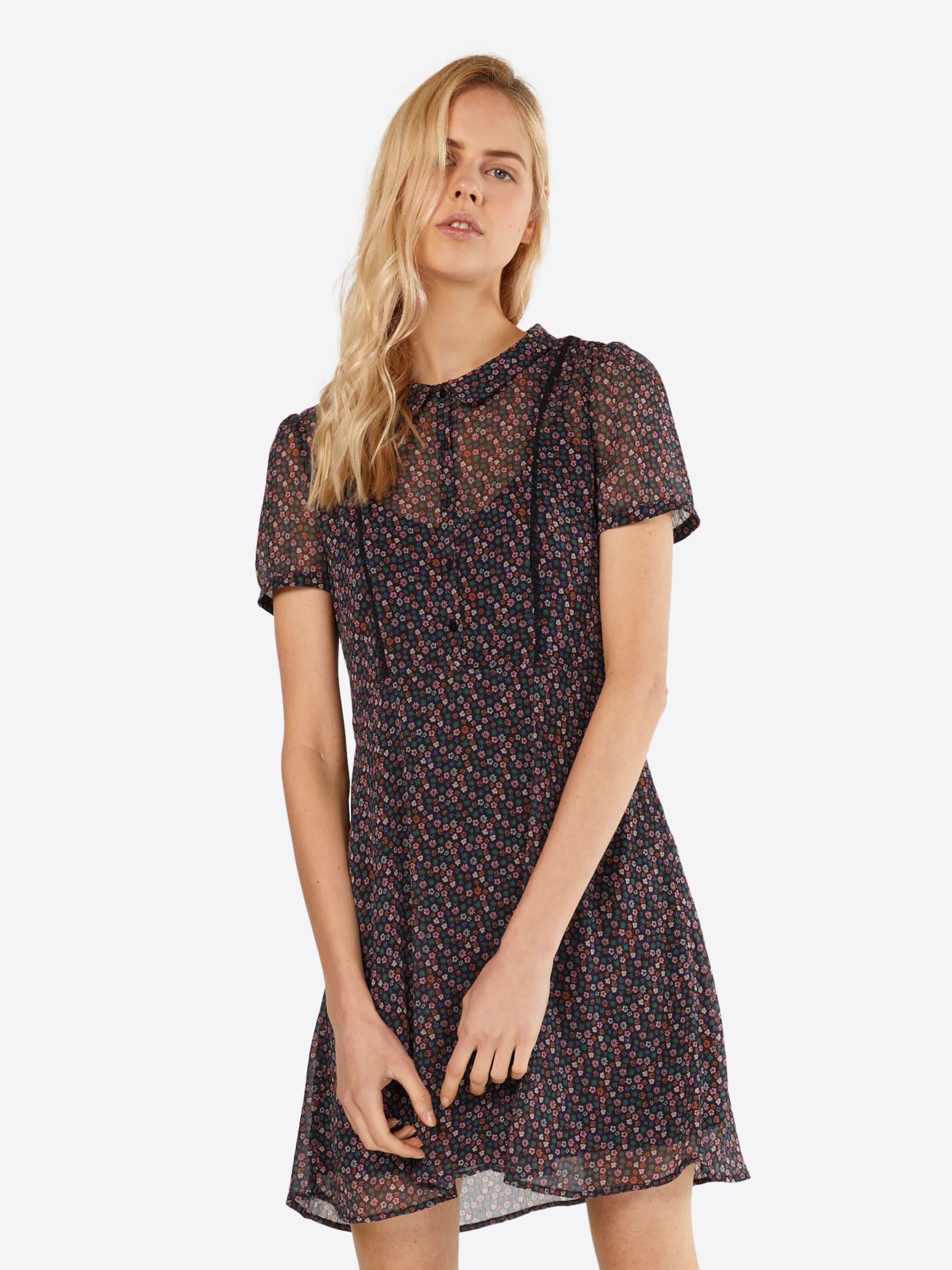 EDC BY ESPRIT Sukienka koszulowa  czarny