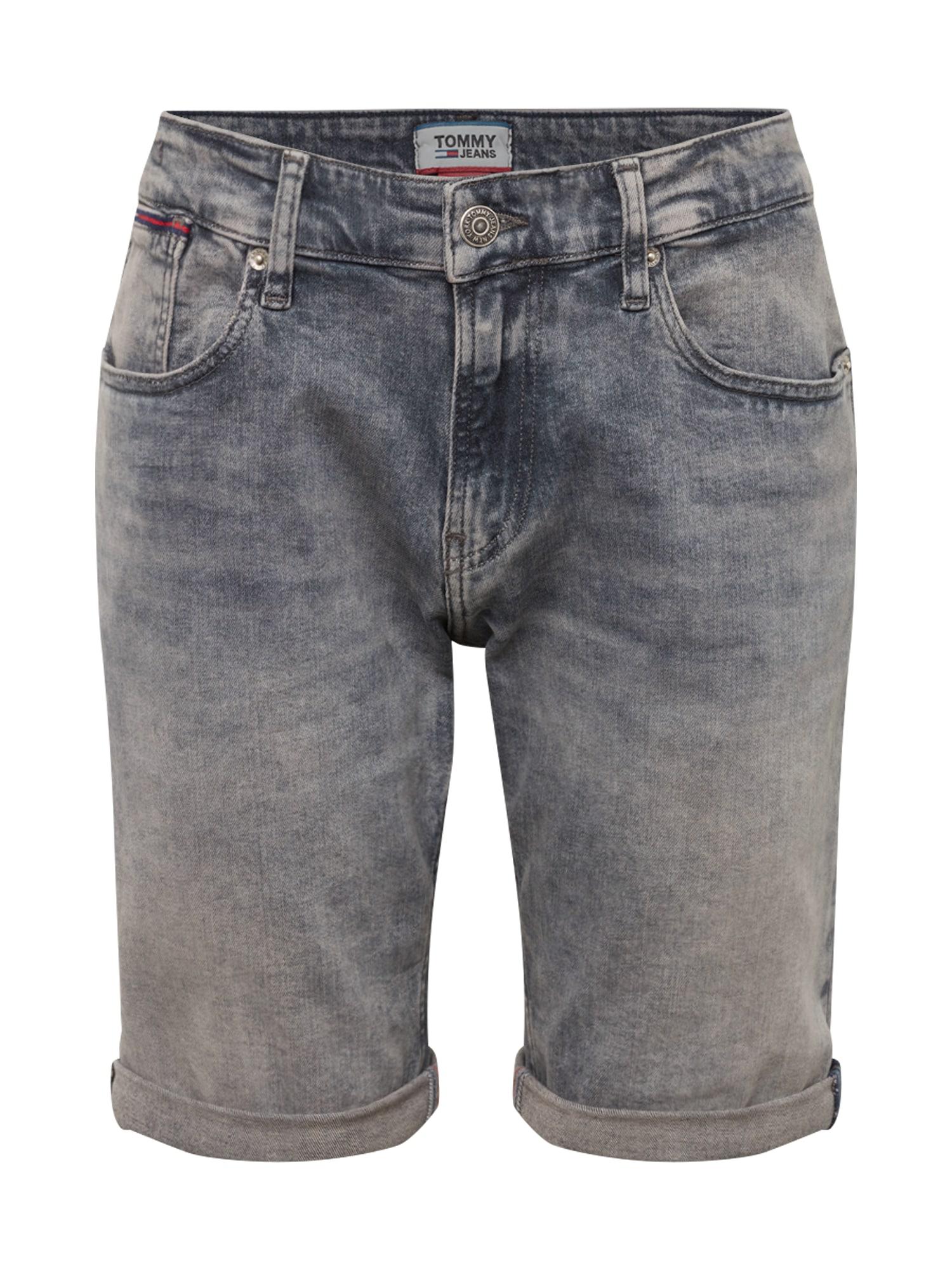 Džíny Ronnie šedá džínová Tommy Jeans