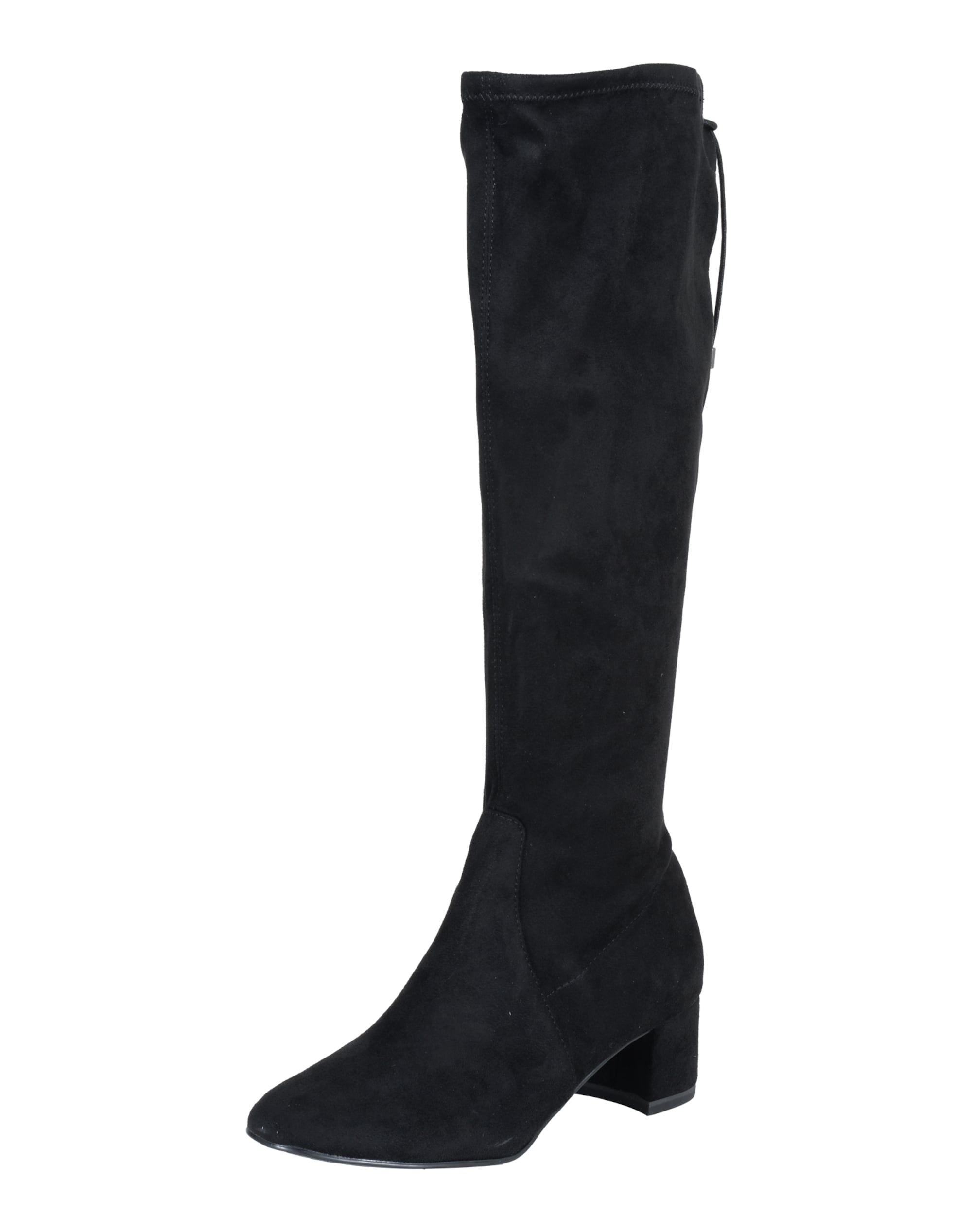 Stiefel aus stretchigem Textil