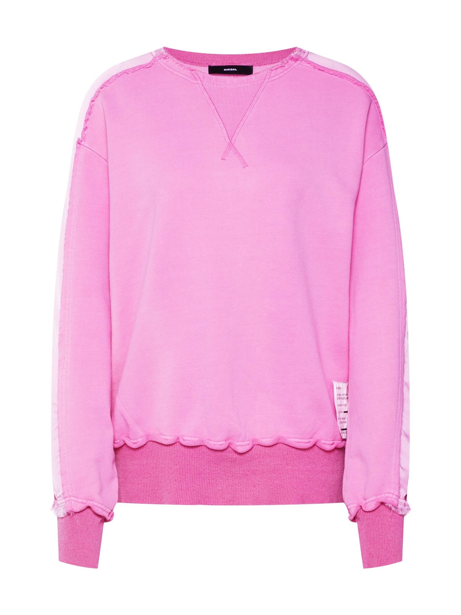 Mikina F-EVIE pink DIESEL