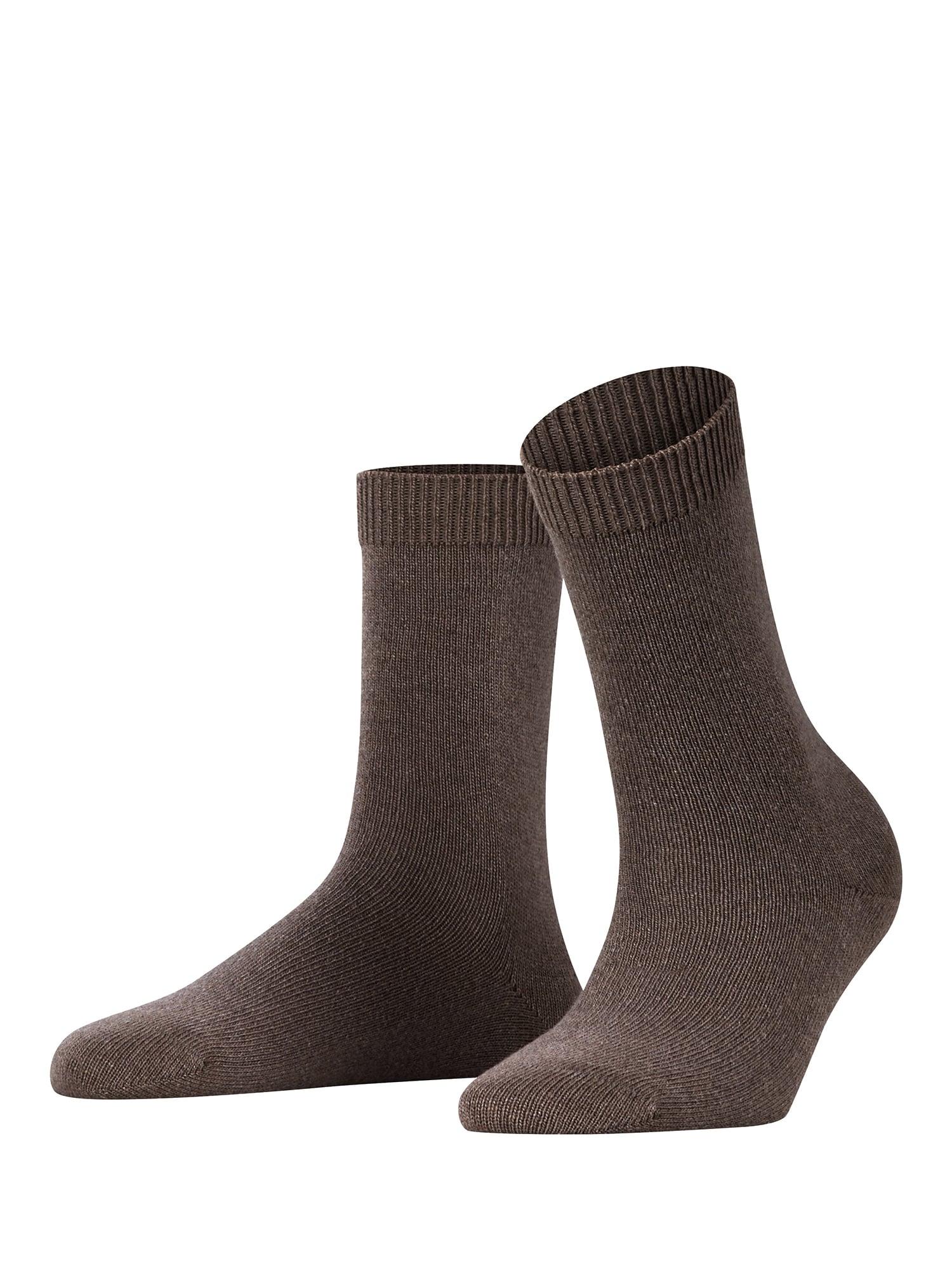 Ponožky Cosy Wool hnědá FALKE