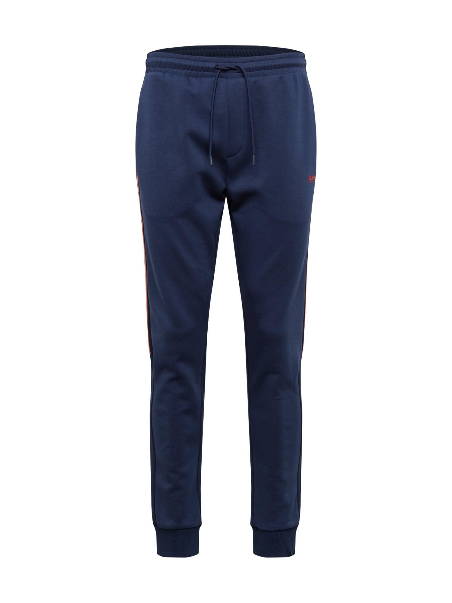 BOSS ATHLEISURE Kalhoty 'Halvo'  námořnická modř