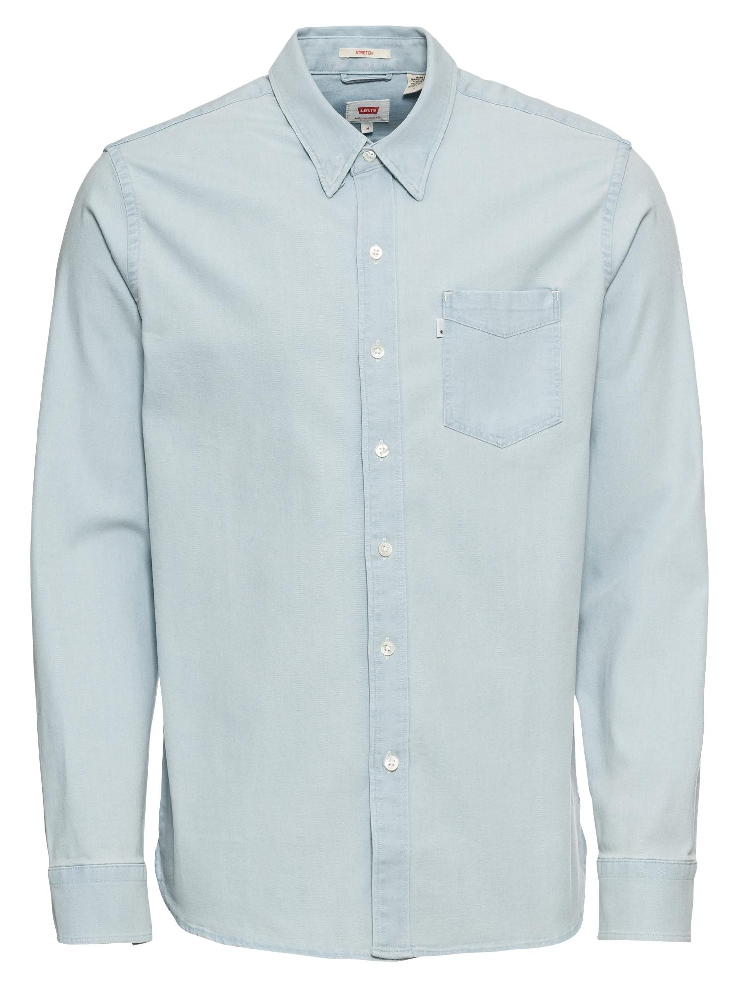 LEVIS Košile SUNSET1POCKETSHIRT modrá džínovina LEVI'S