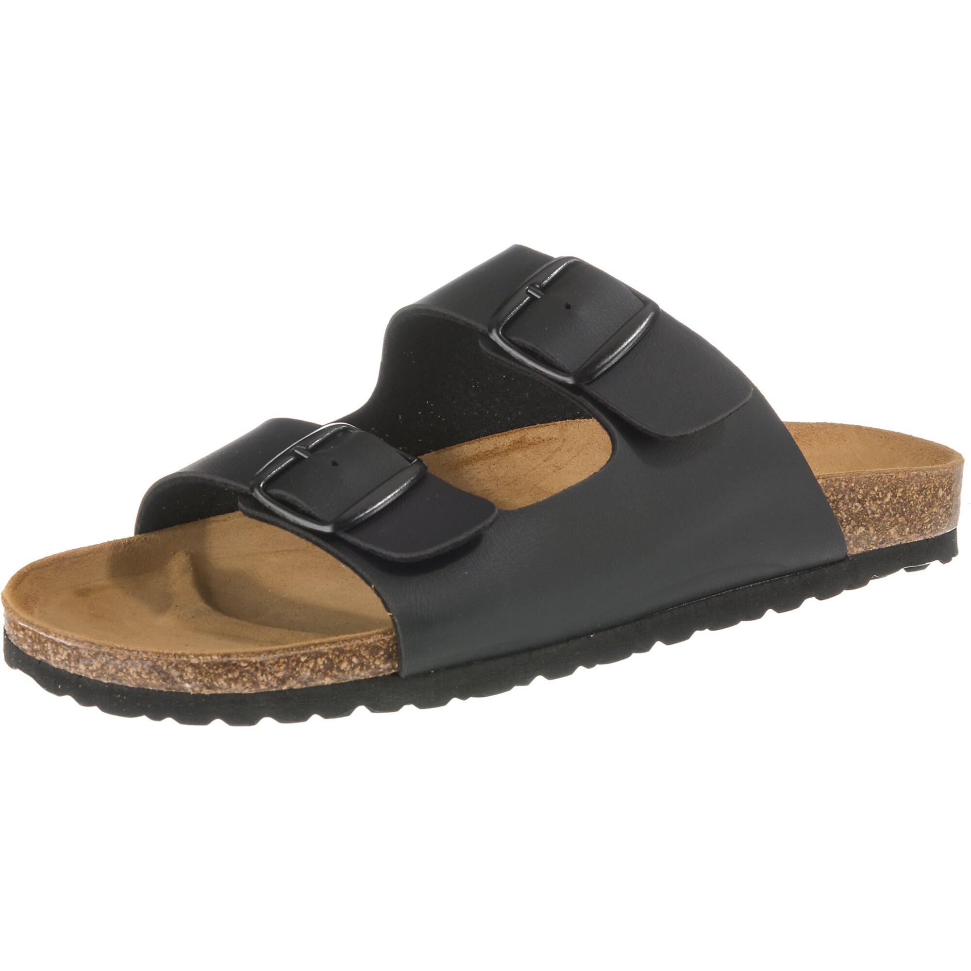 Bioline Man Komfort-Pantoletten | Schuhe > Clogs & Pantoletten | Schwarz | LICO