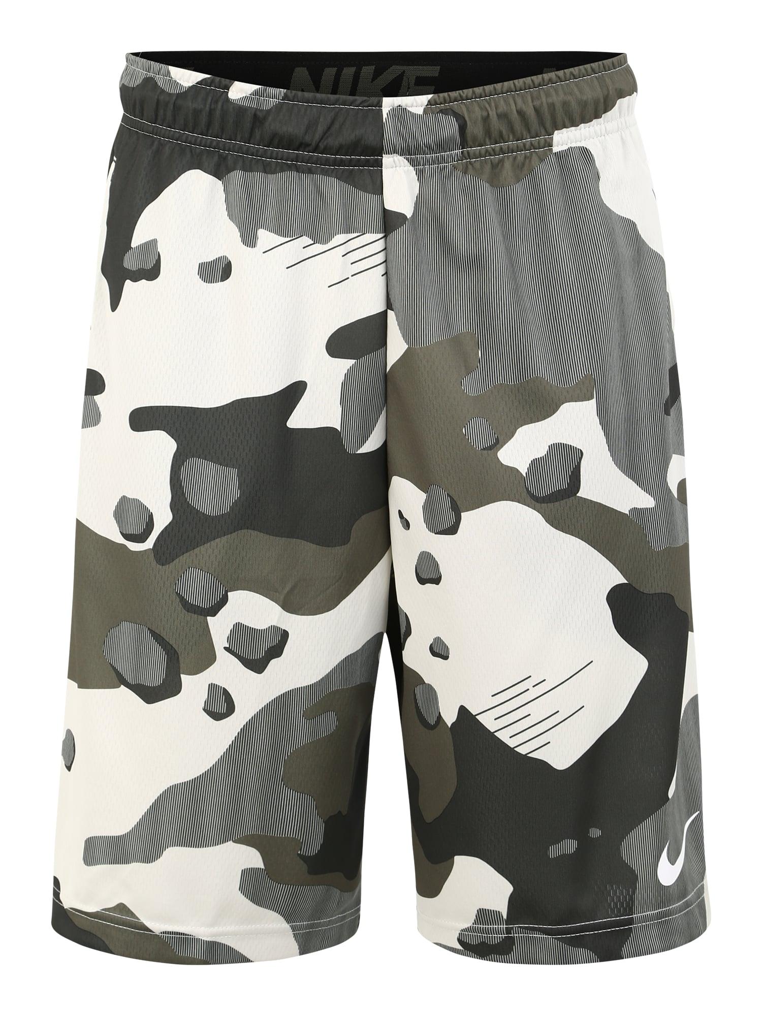 Sportovní kalhoty barvy bláta khaki NIKE