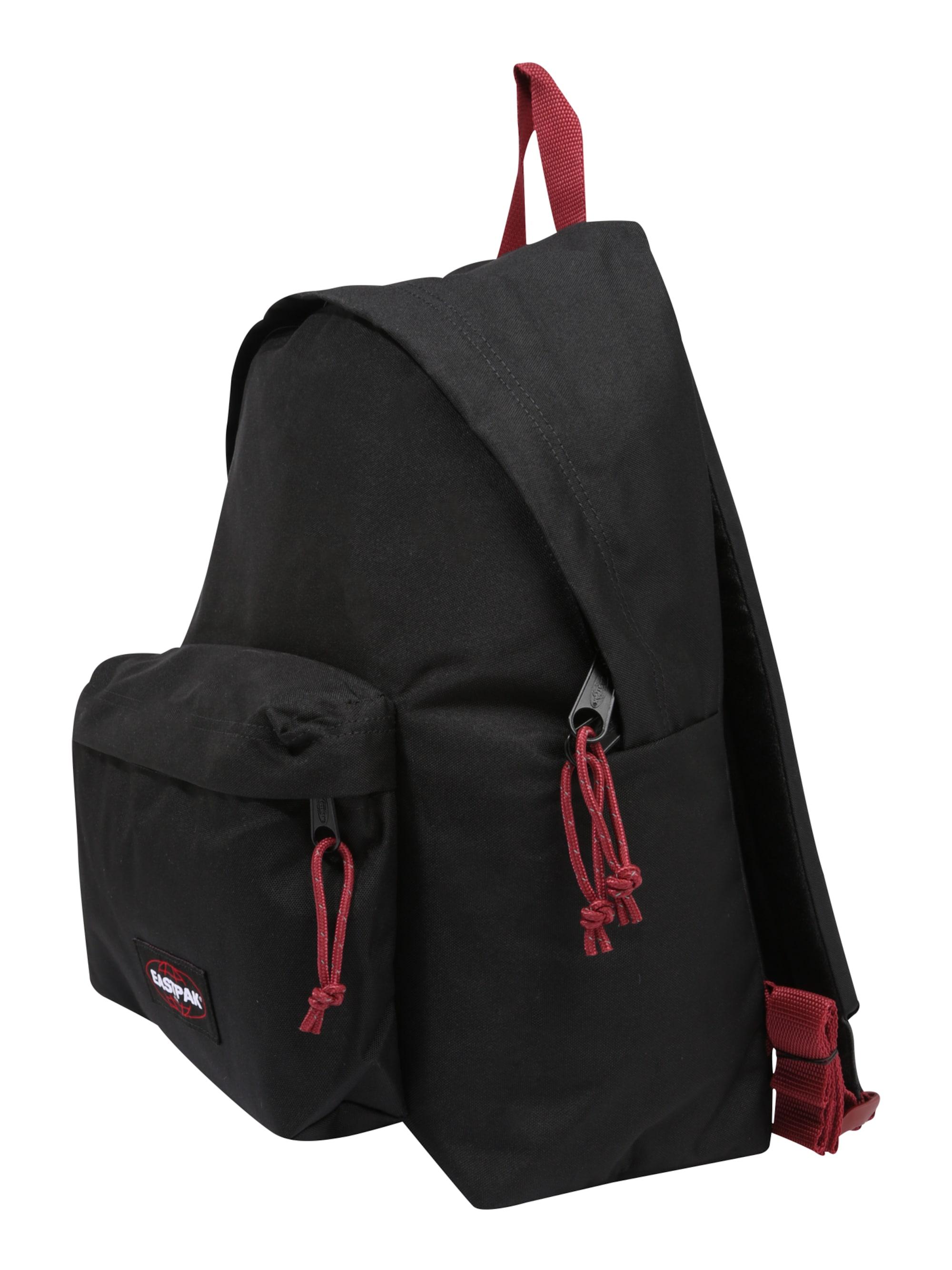 EASTPAK Plecak 'PADDED PAKR'  czerwony / czarny