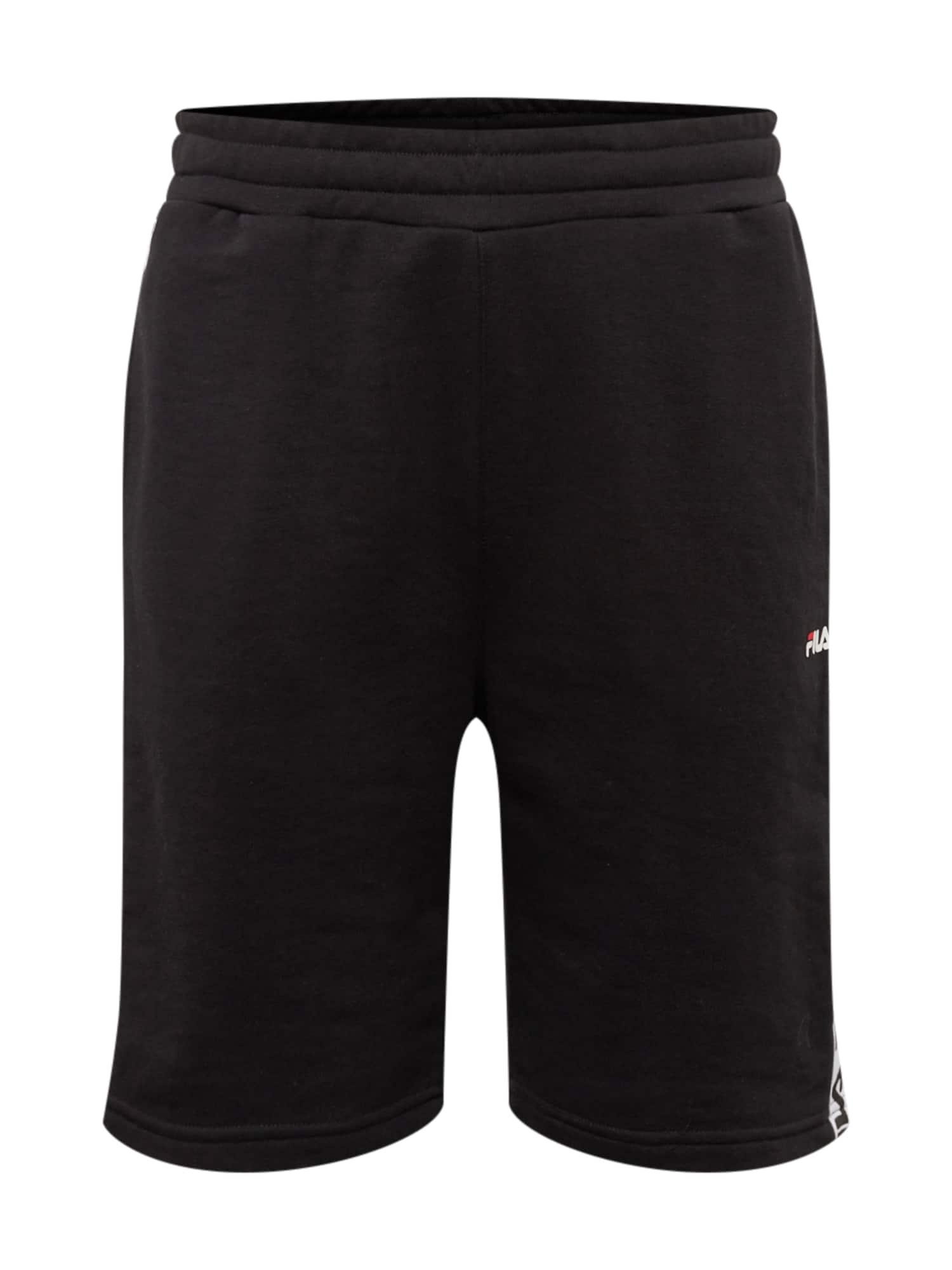 Kalhoty Tristan černá FILA