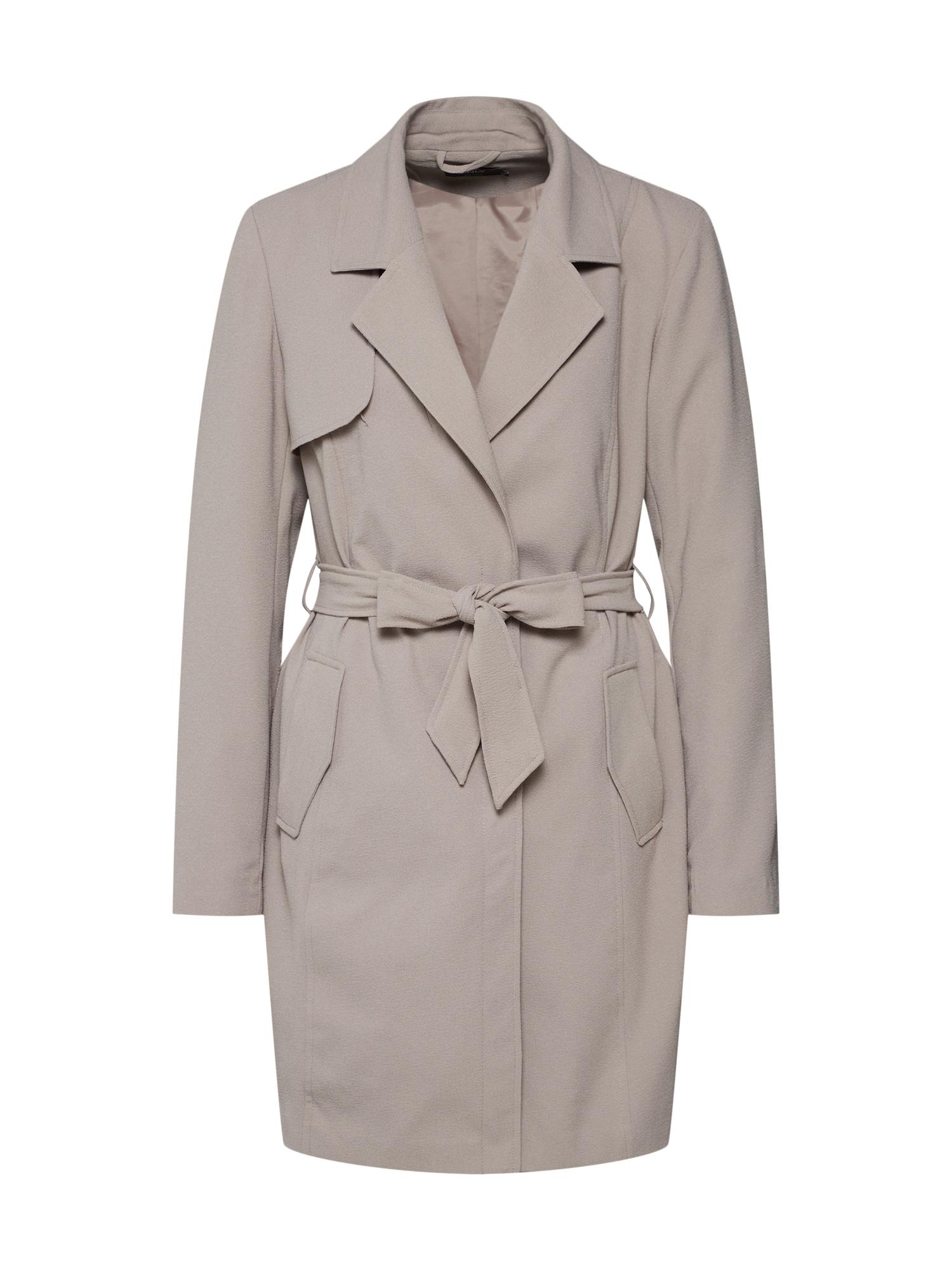 Přechodný kabát onlJANE béžová ONLY