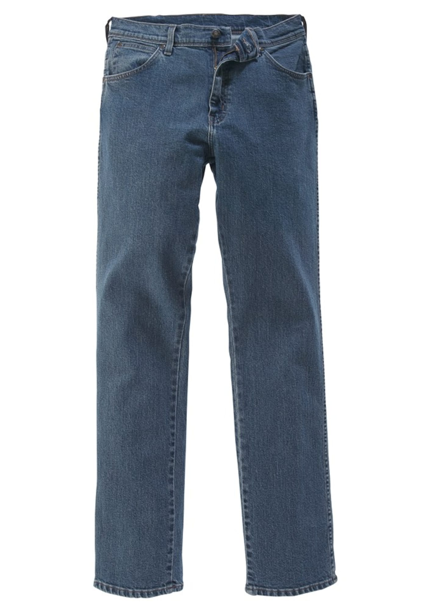 WRANGLER Heren Jeans Stretch blauw denim