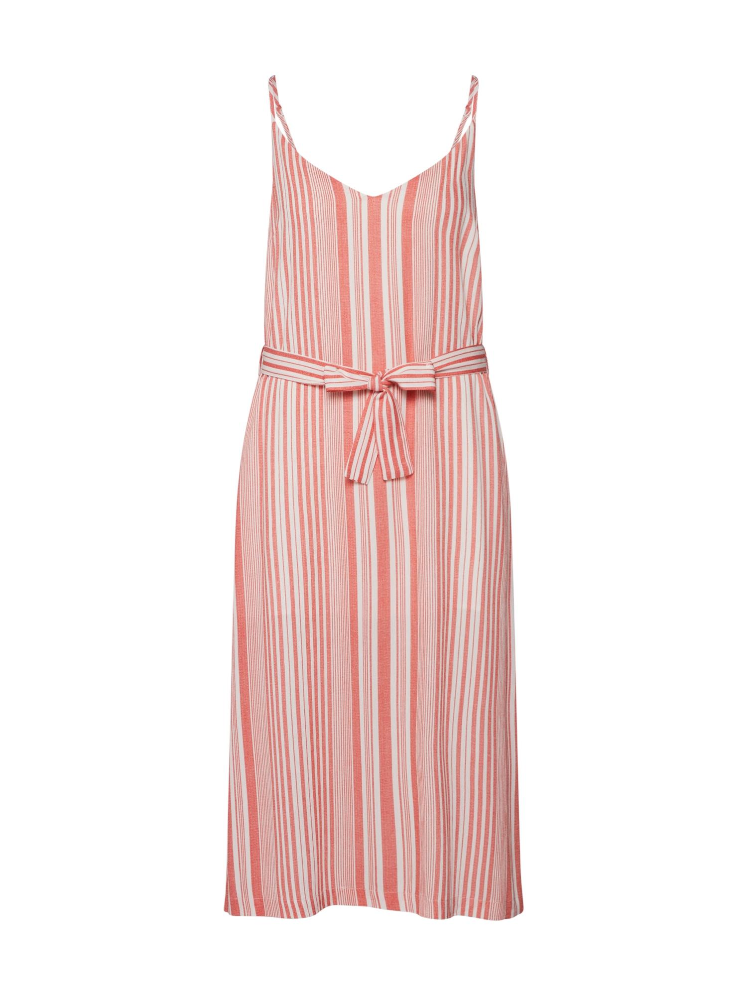 Letní šaty OCEAN SIDE oranžová bílá MINKPINK