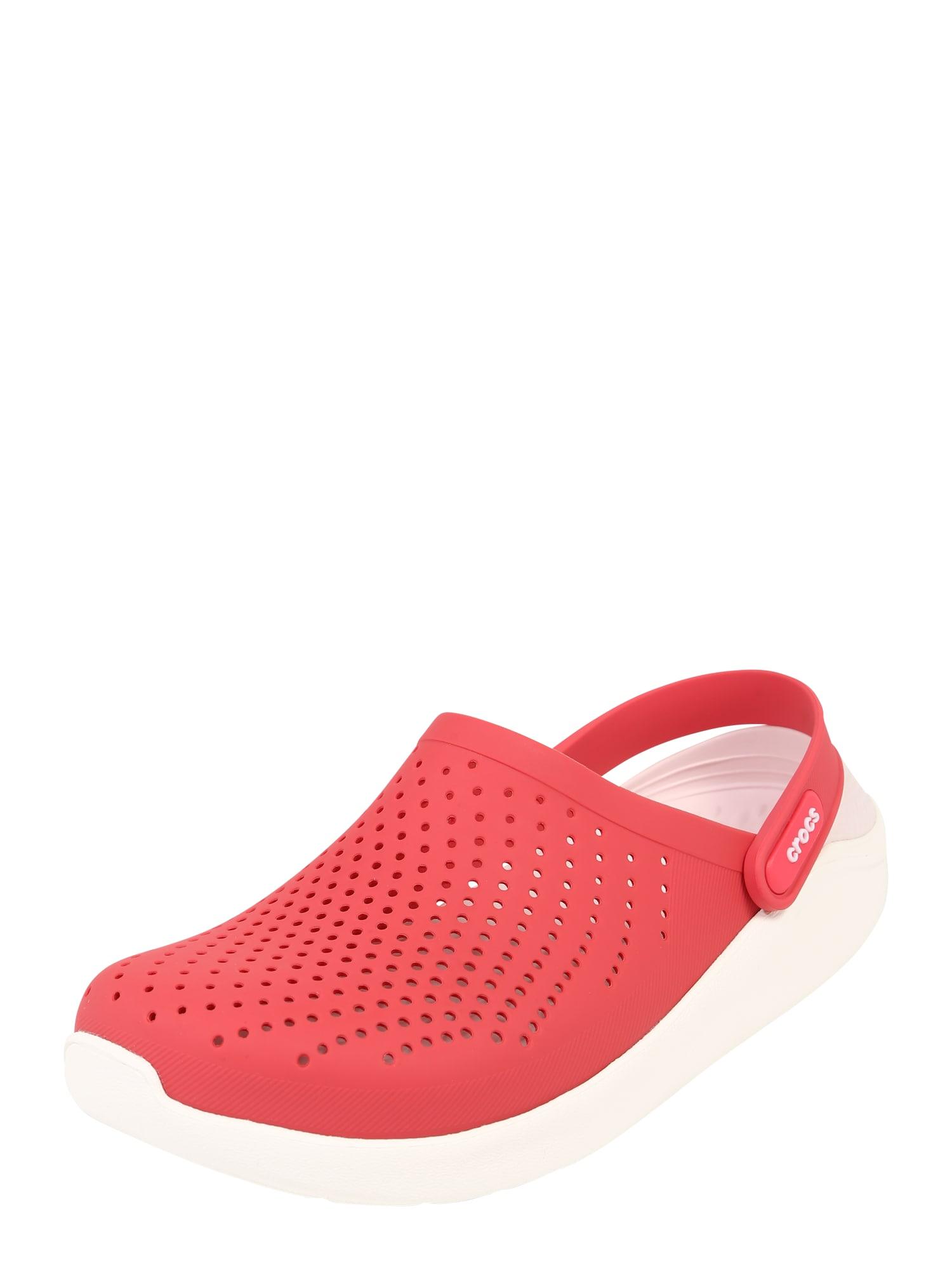 Pantofle Rite Lite pink bílá Crocs