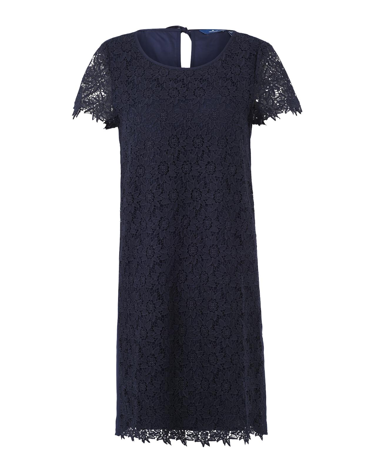 TOM TAILOR Kleid mit Spitzenbesatz