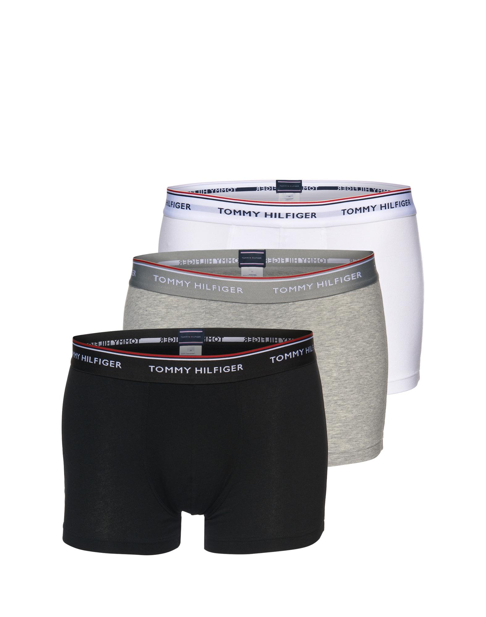Boxerky šedá černá bílá Tommy Hilfiger Underwear