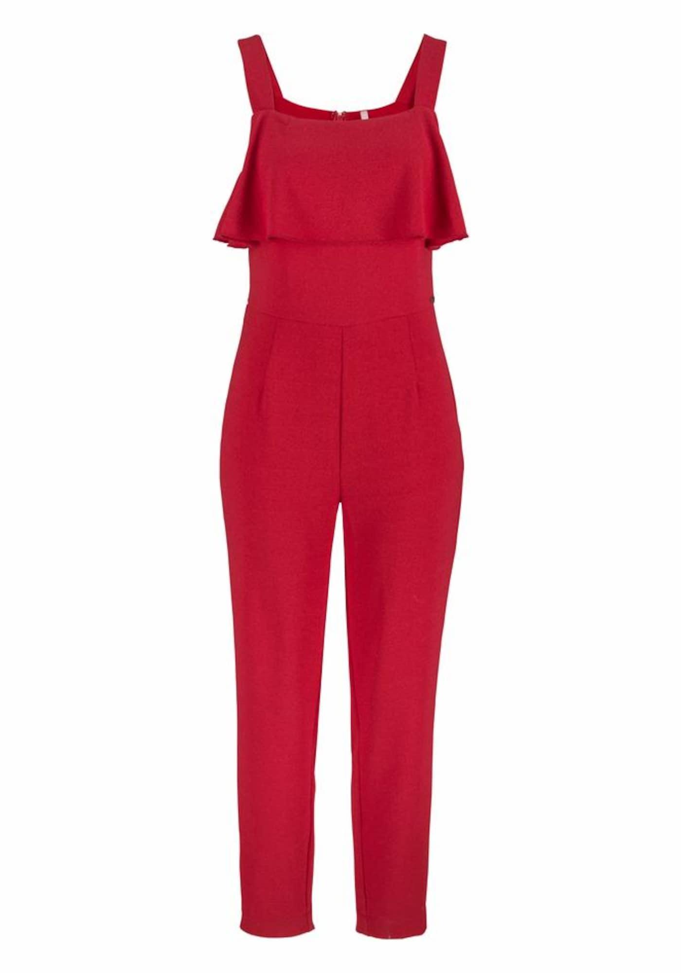 Pepe Jeans Dames Jumpsuit CAROLI rood