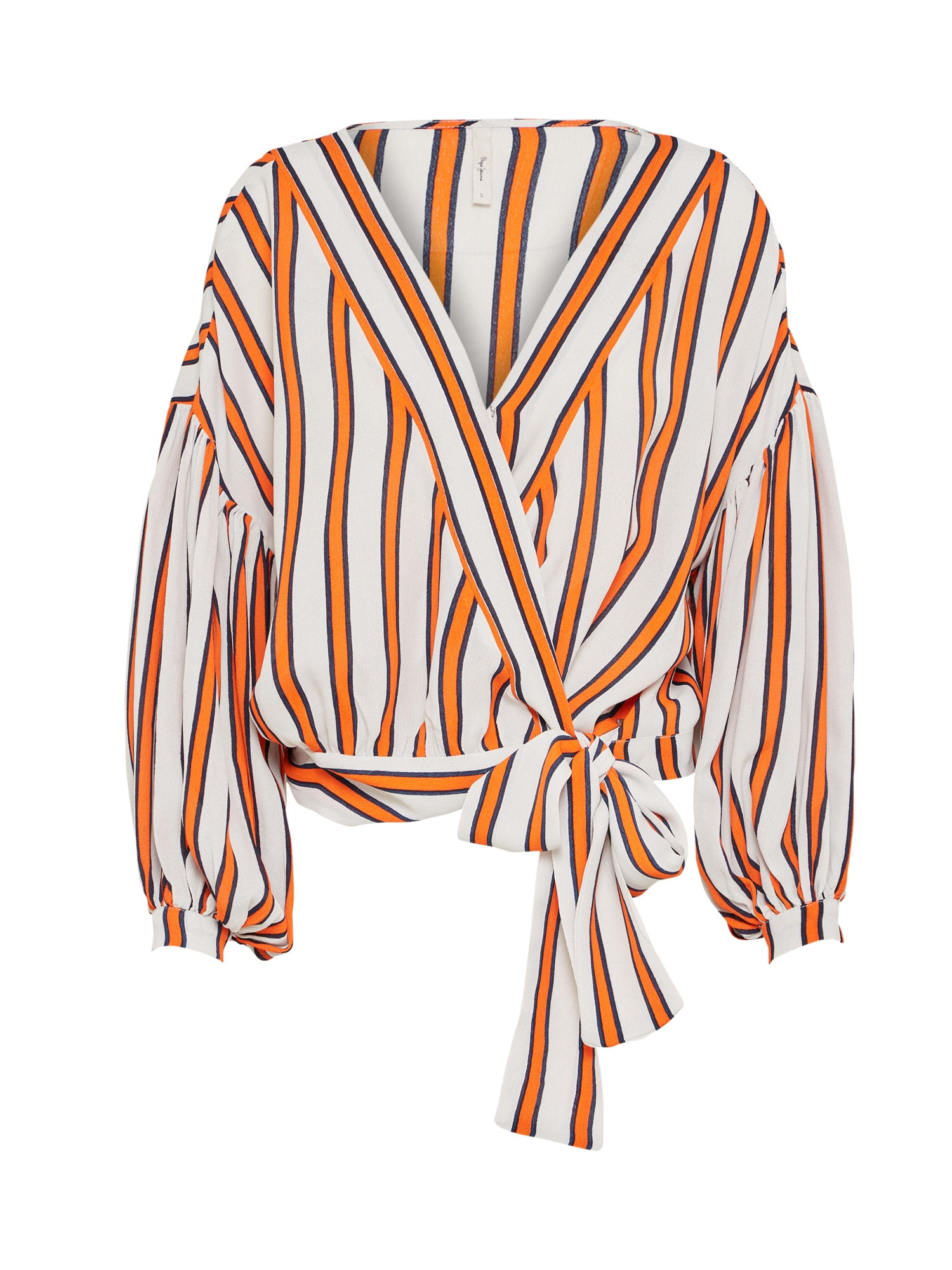Pepe Jeans Dames Blouse AUDREY grijs sinaasappel