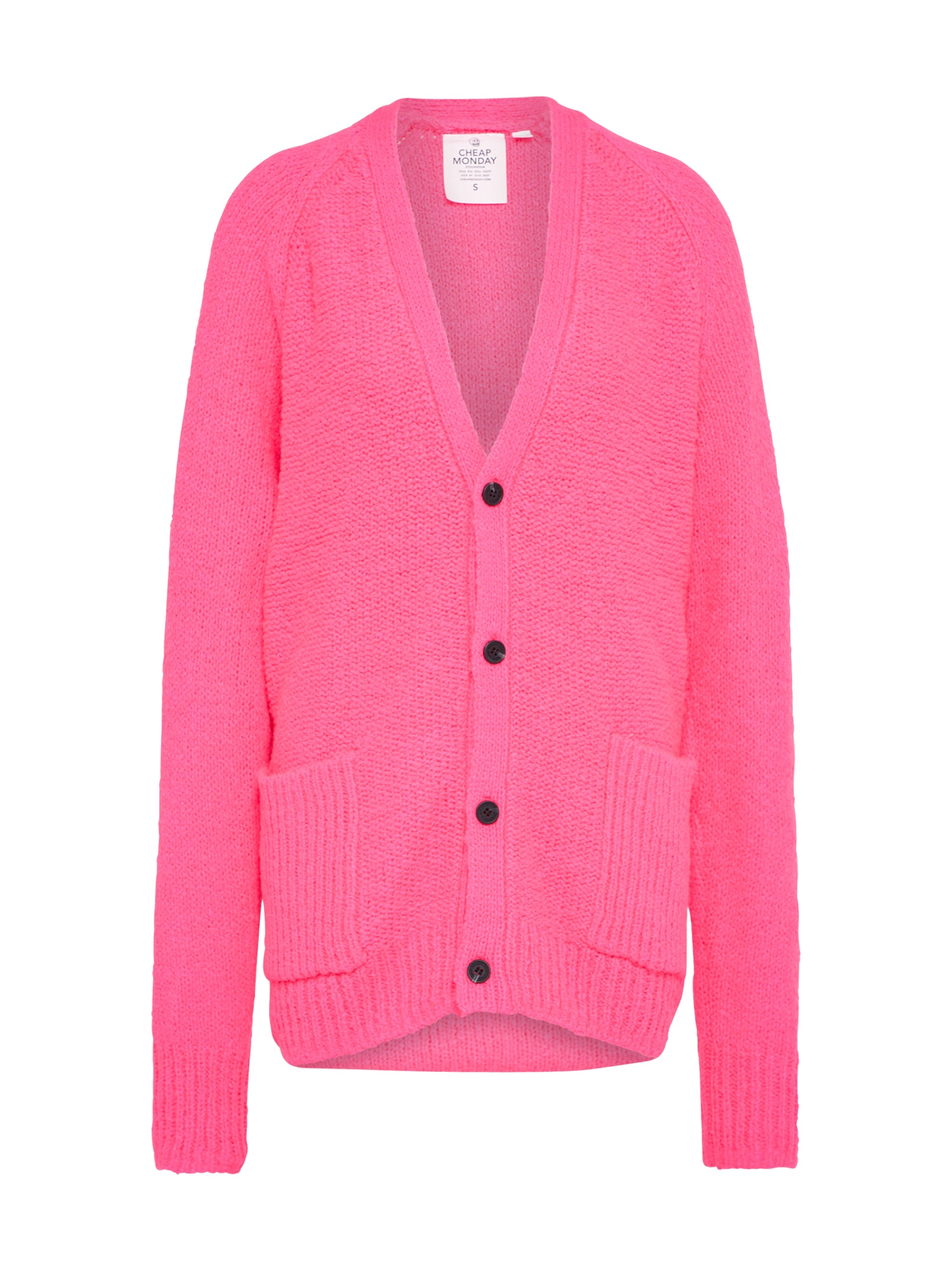 CHEAP MONDAY Dames Oversized vest Deception pink