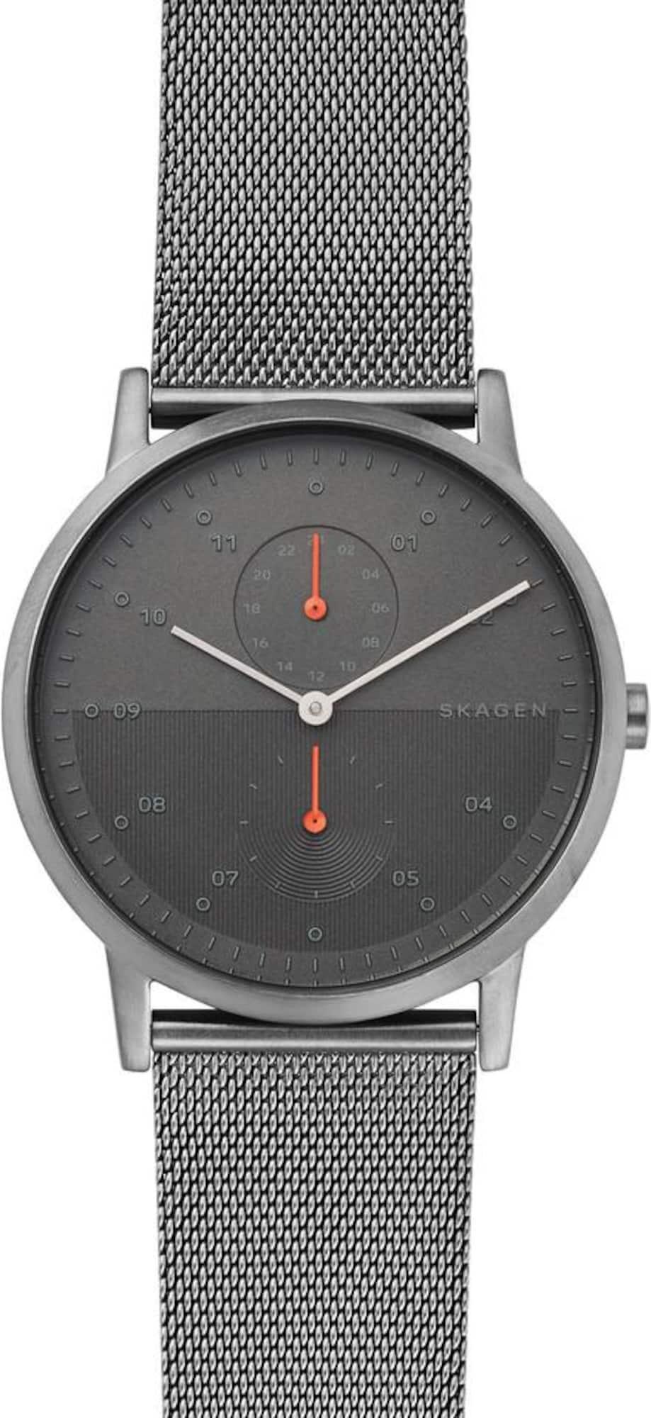 Multifunktionsuhr 'Kristoffer, SKW6501' | Uhren > Multifunktionsuhren | Grau - Dunkelgrau | skagen