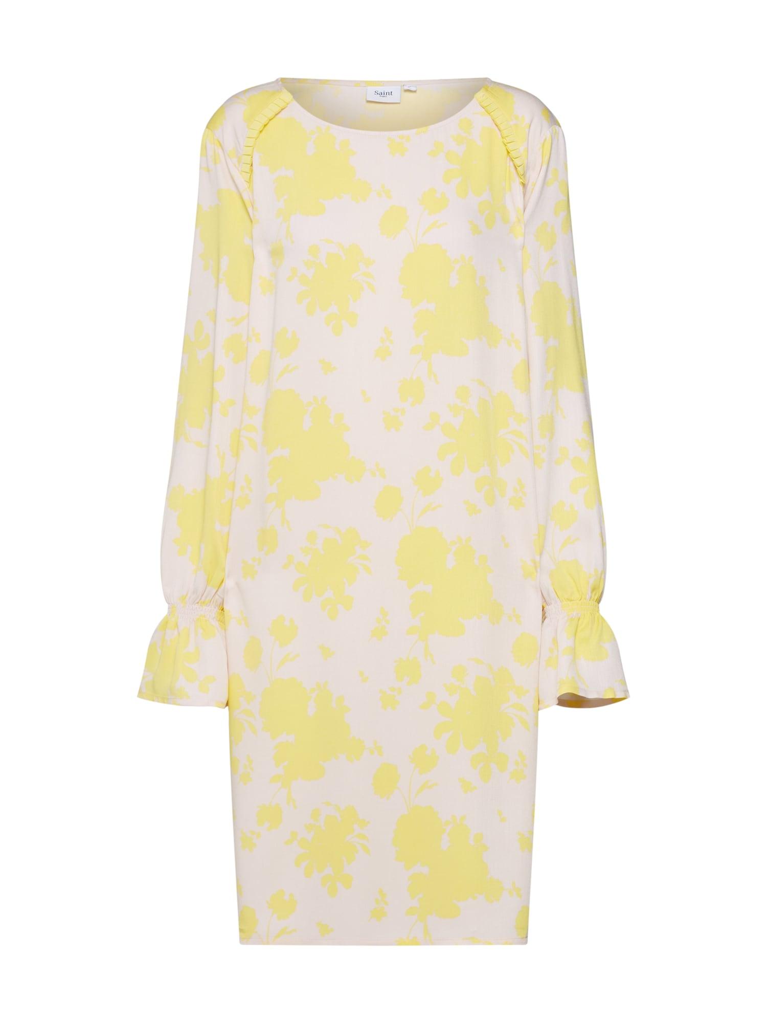 Šaty Candy Flower  béžová  žlutá SAINT TROPEZ