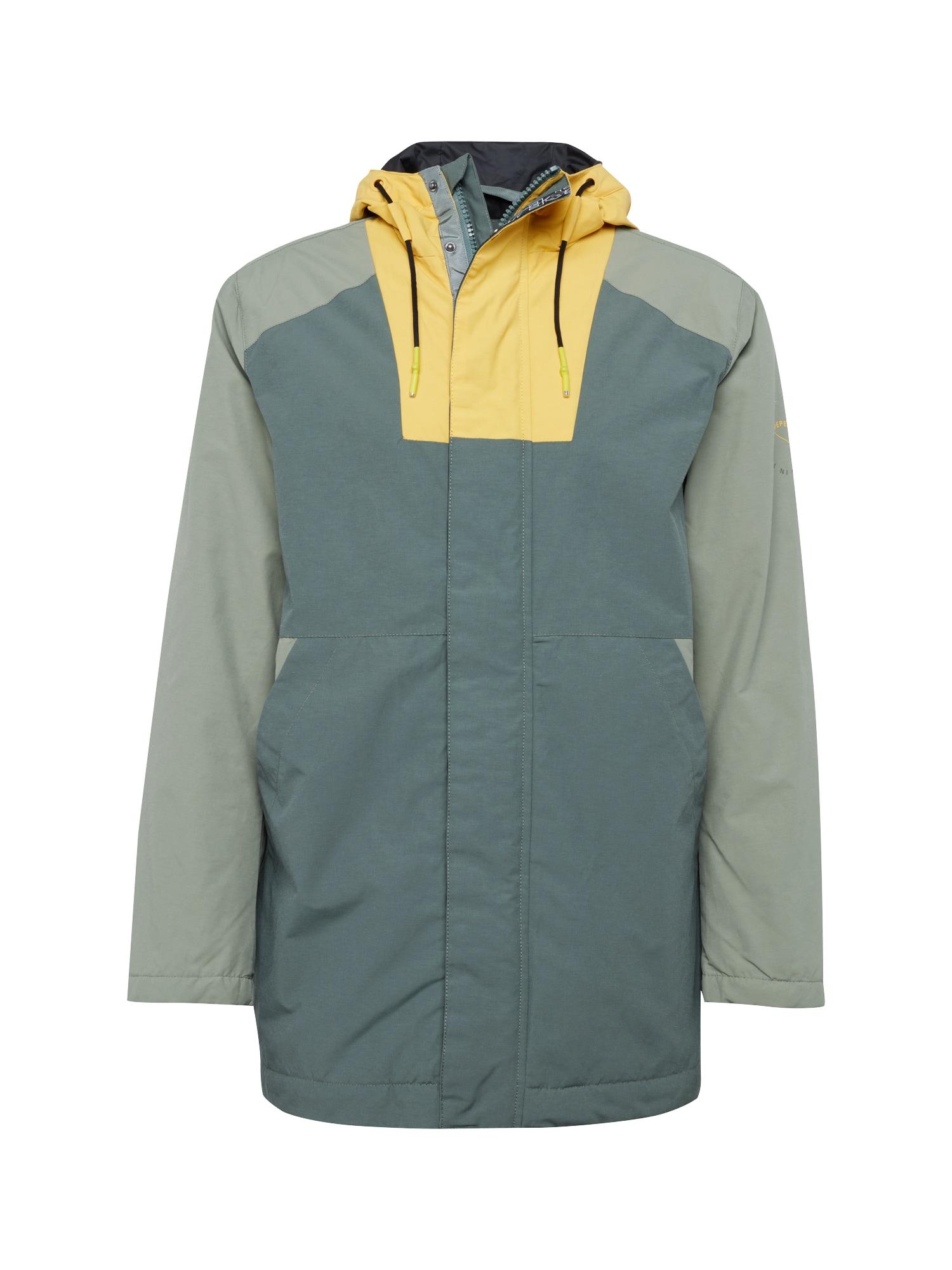 Přechodná bunda HAYAMA hořčicová tmavě zelená Pepe Jeans