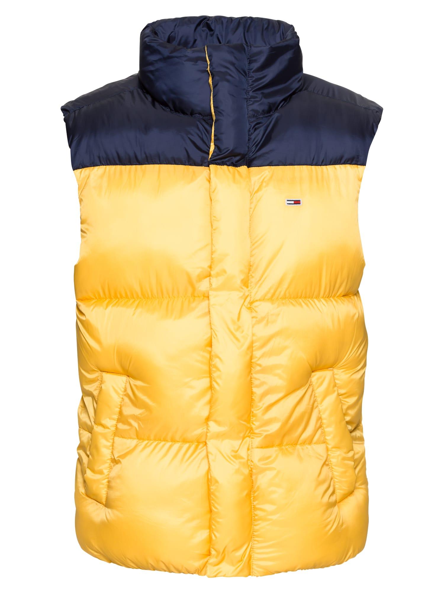 Vesta tmavě modrá žlutá Tommy Jeans