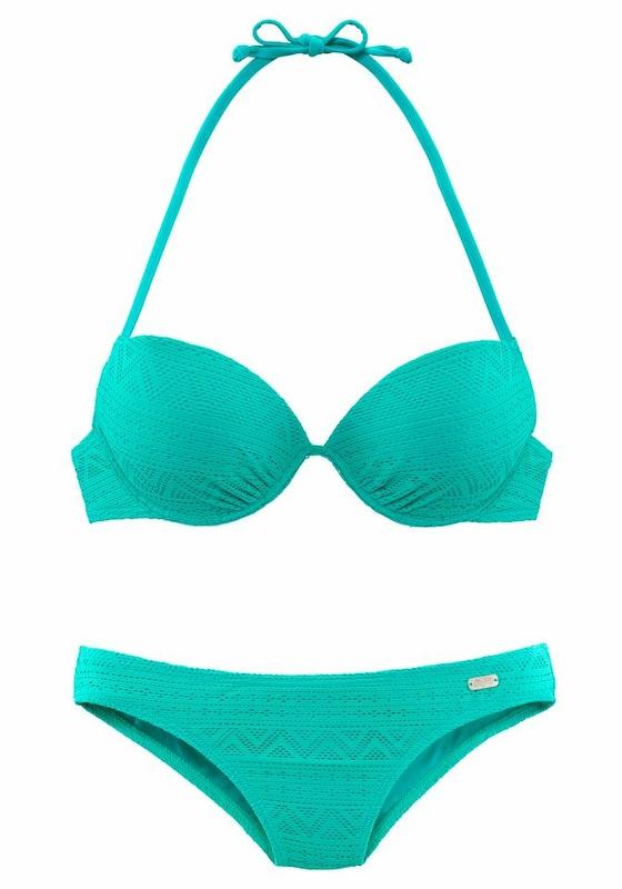 BUFFALO Push-up-Bikini in Häkeloptik jetztbilligerkaufen