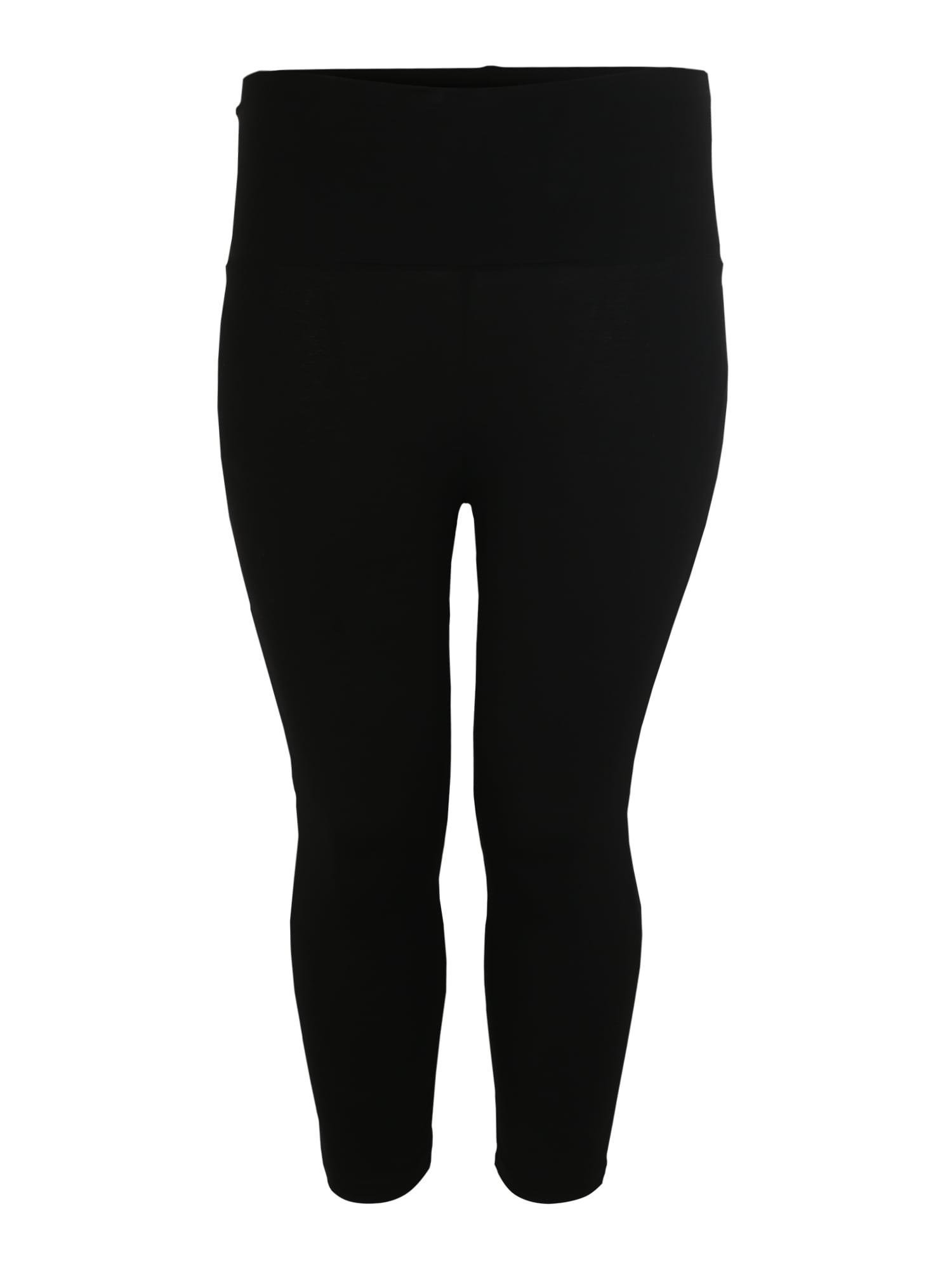 Sportovní kalhoty onpFOLD černá Only Play Curvy