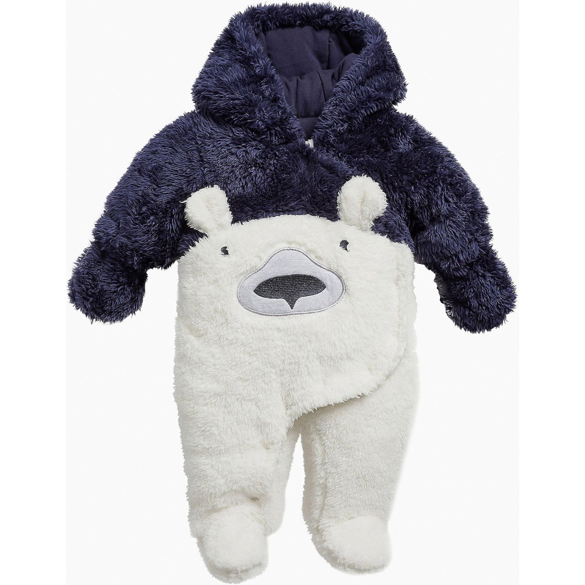 Baby Overall für Jungen, Eisbär