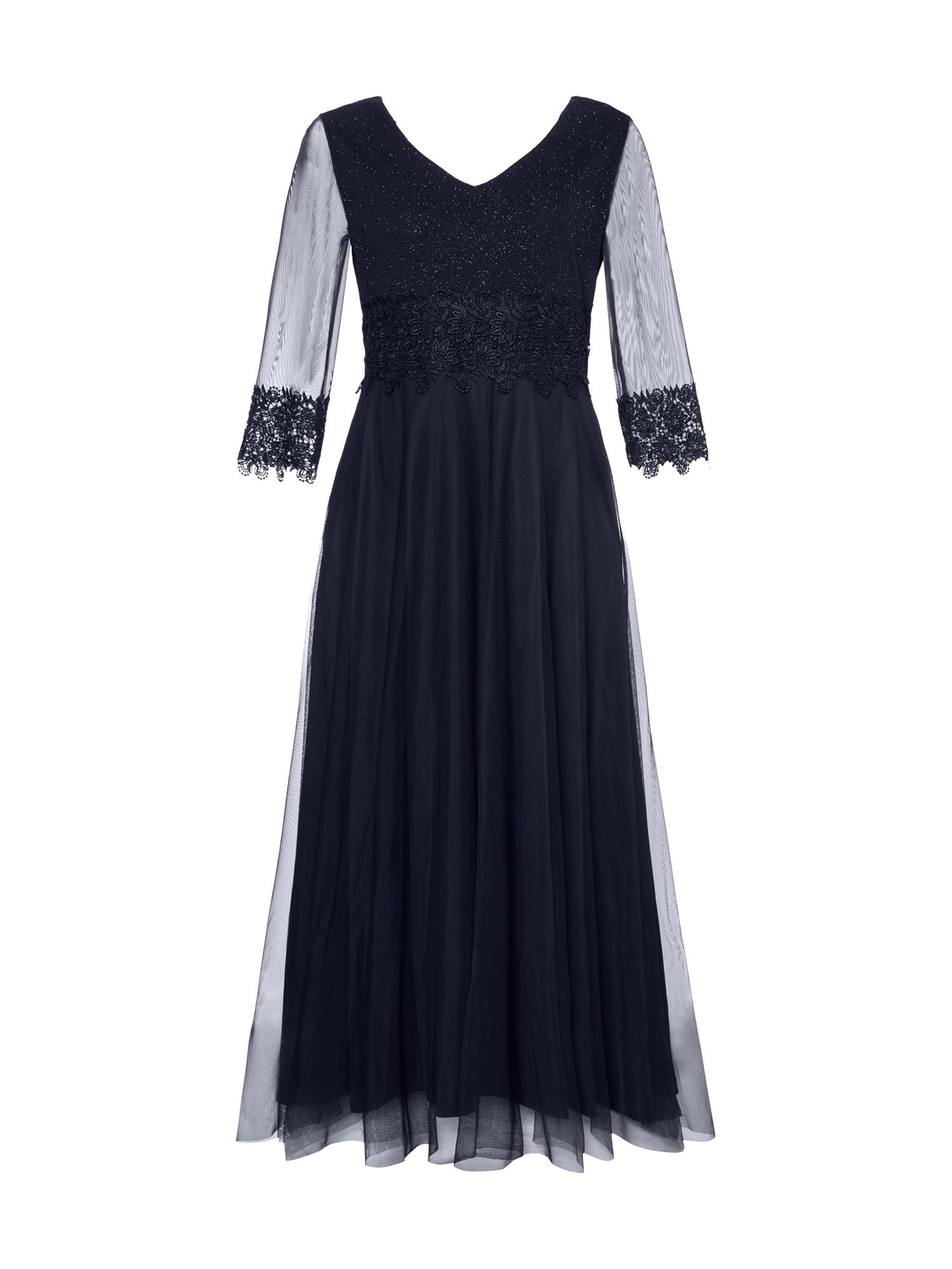 Společenské šaty tmavě modrá Ulla Popken
