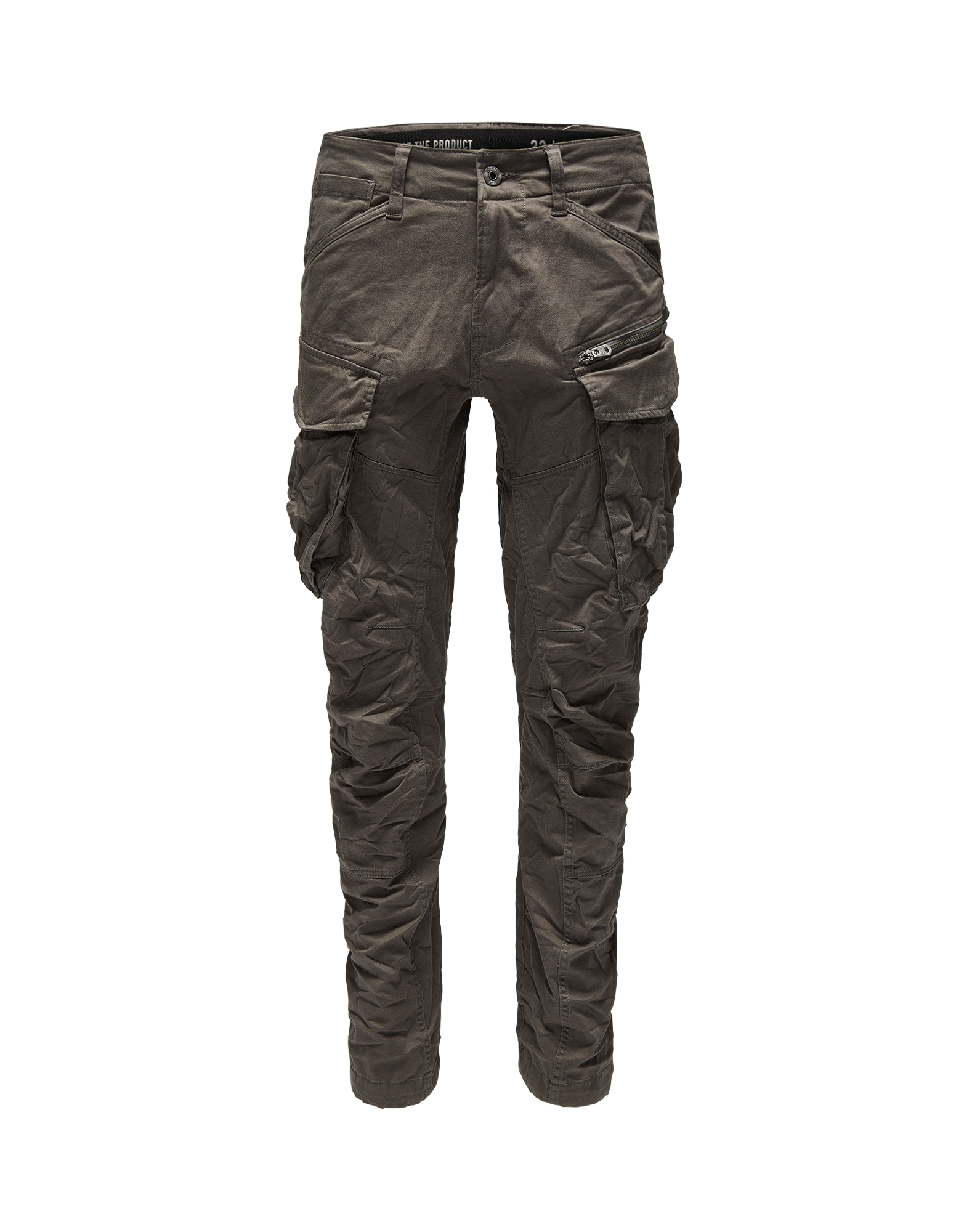 Kapsáče Rovic 3D Tapered khaki G-STAR RAW