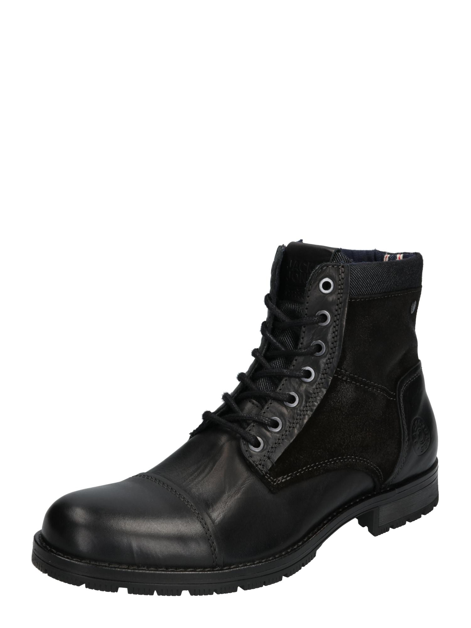 Stiefel 'MARSHALL' | Schuhe > Boots > Stiefel | Anthrazit - Schwarz | jack & jones