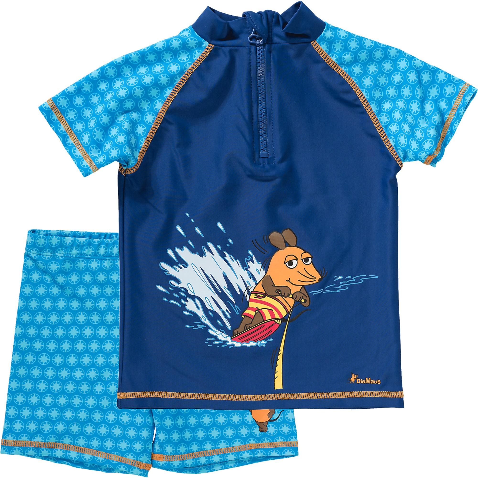 2 teiliger Schwimmanzug mit UV Schutz 'MAUS'
