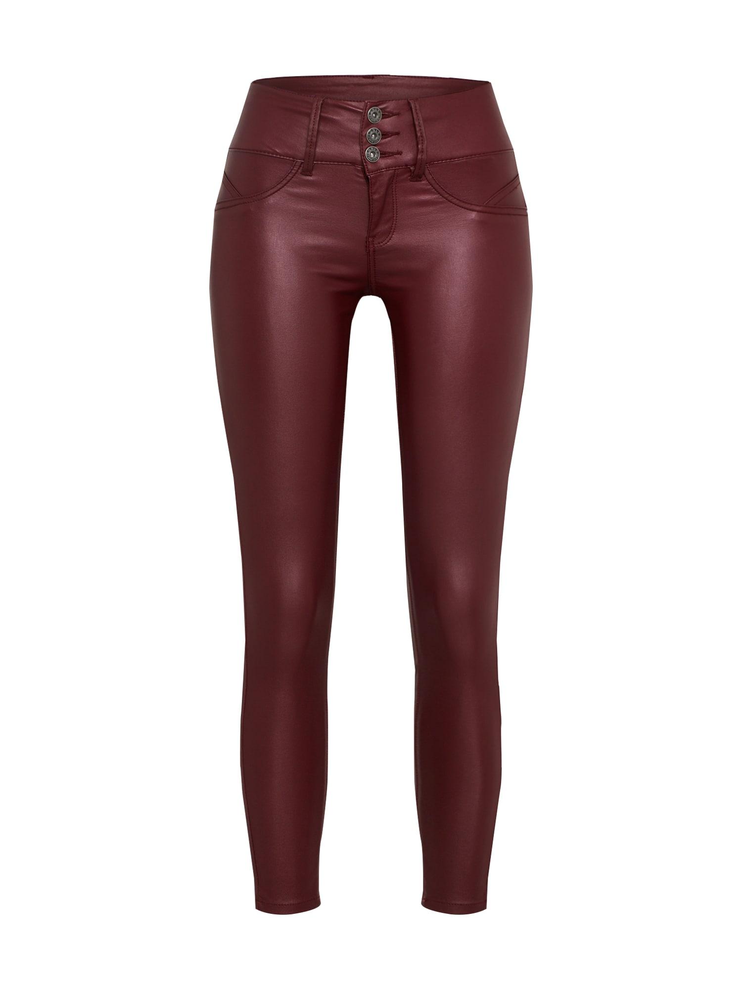 Kalhoty bordó ONLY