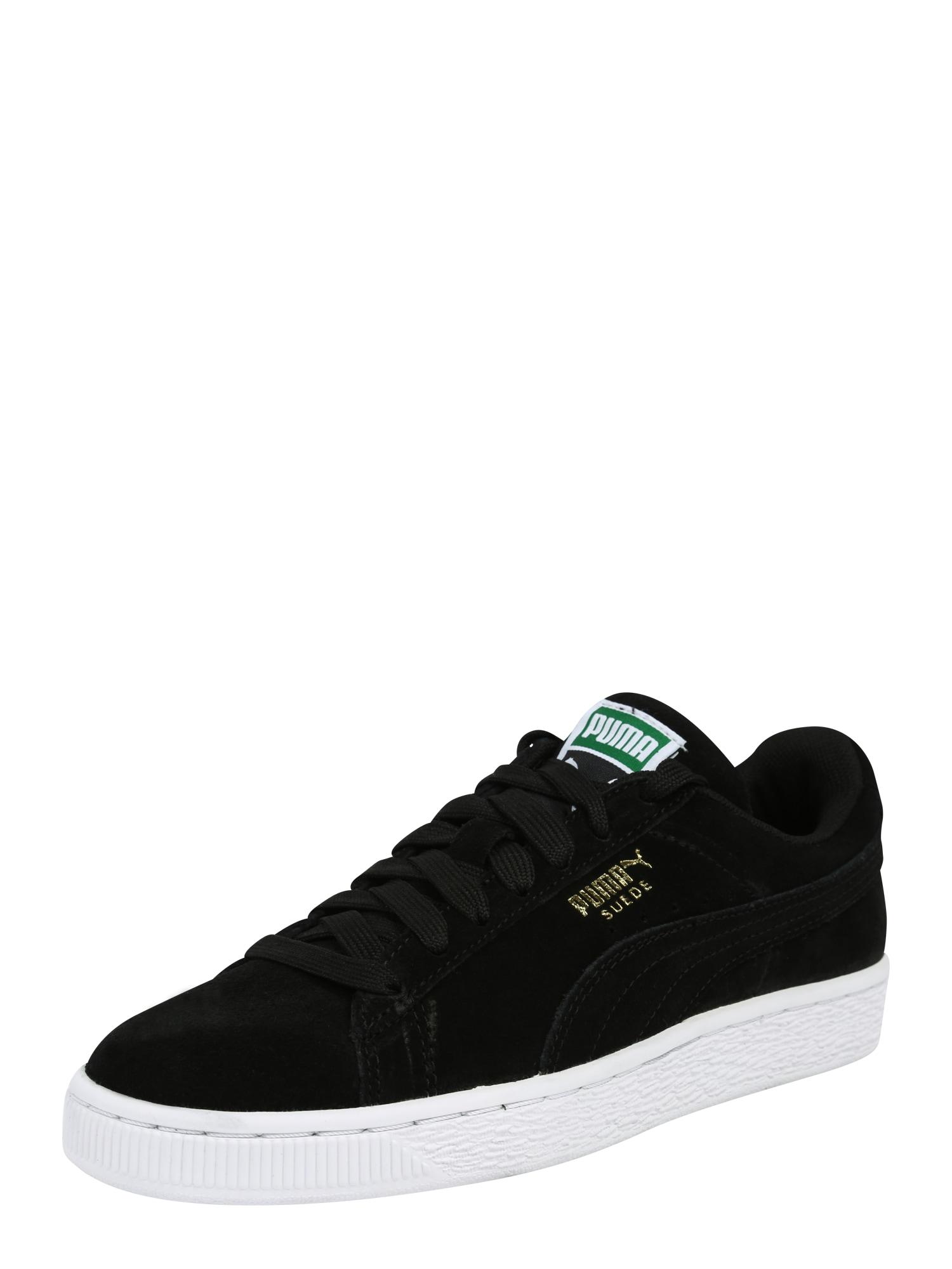 PUMA, Heren Sneakers laag 'Suede Classic', goud / zwart